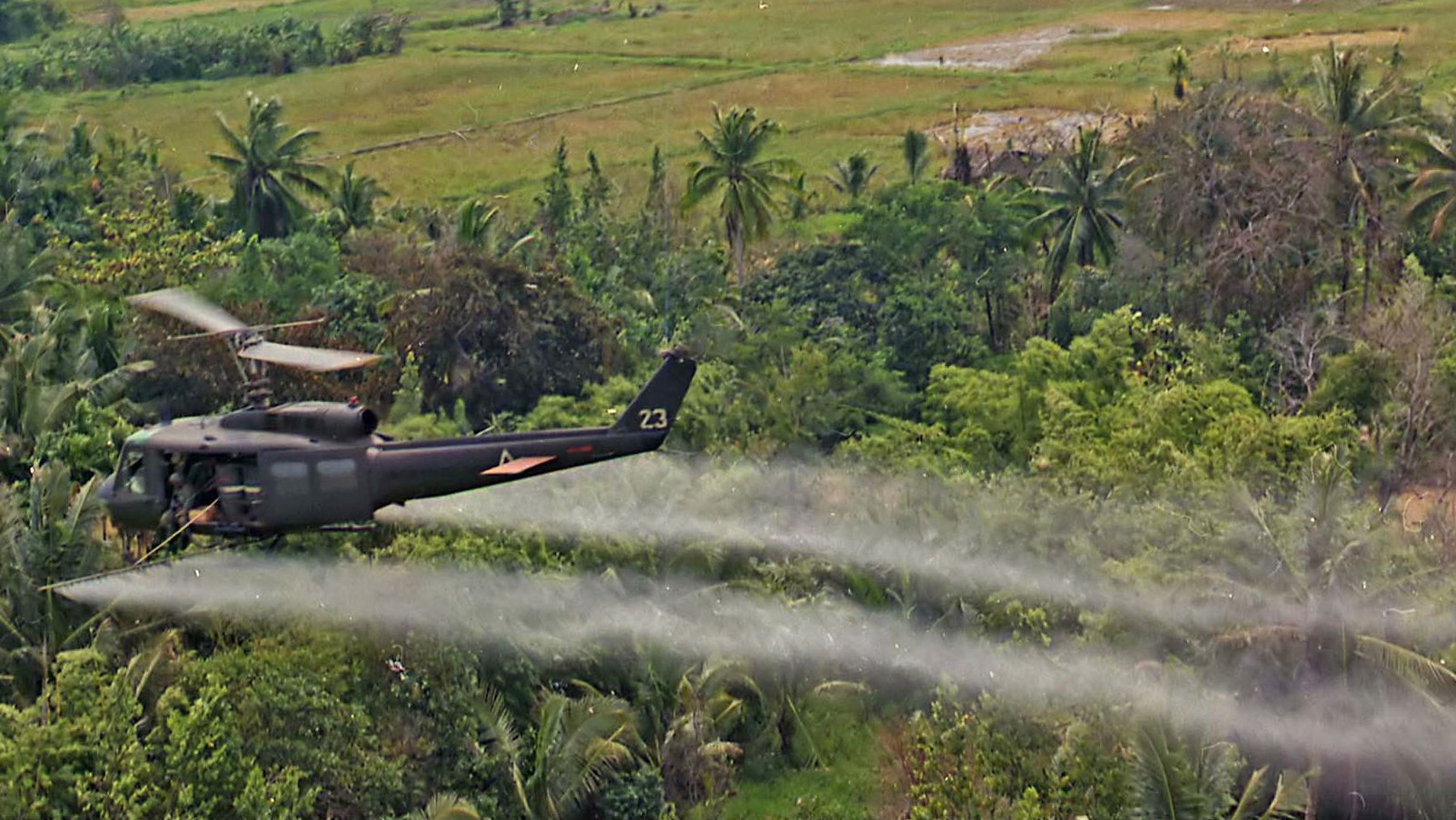 Japan hopes to rid Vietnam of that chemical spray, 40 years later
