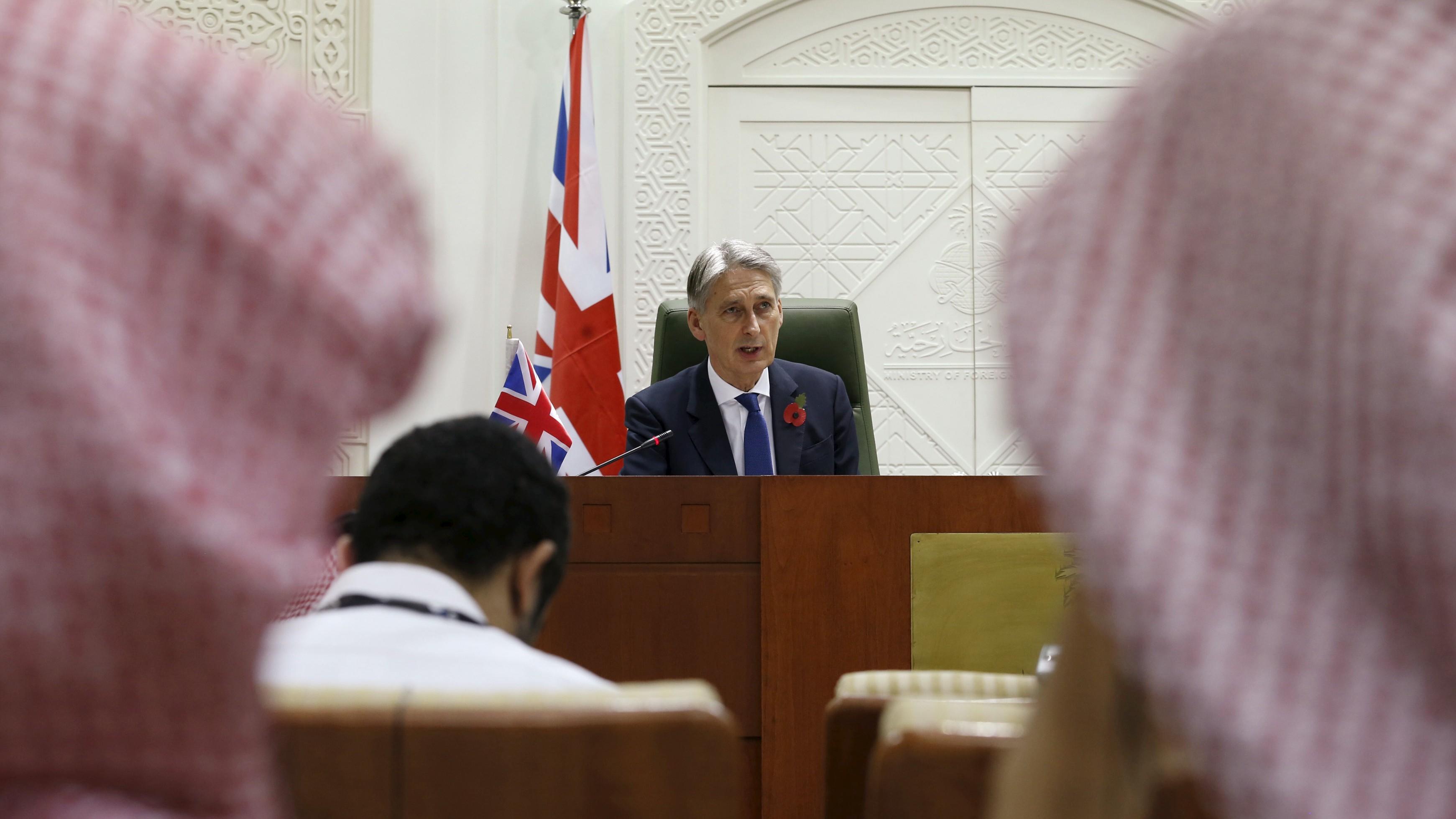 Hammond in Riyadh.