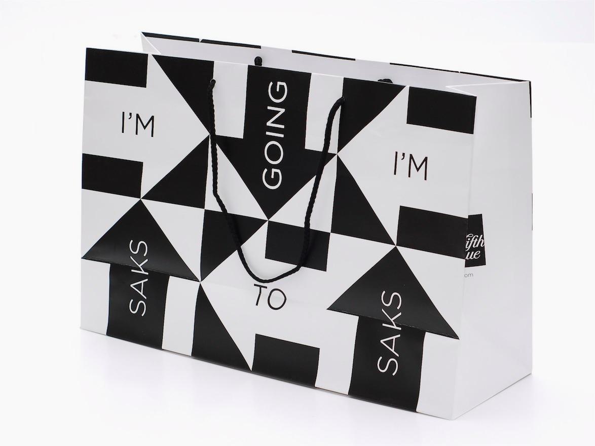saks 5th avenue bag