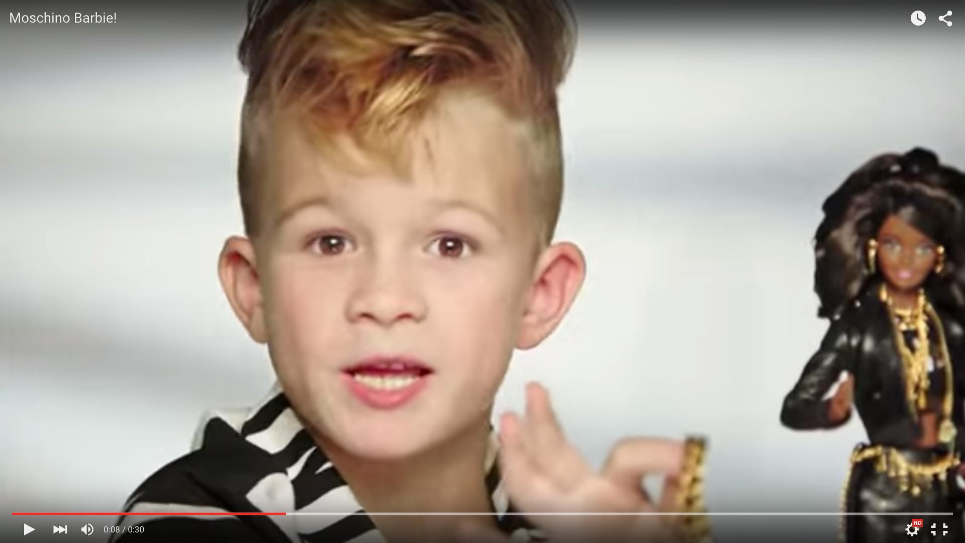 Barbies Newest Spokesperson Is A Very Enthusiastic Little Boy Quartz