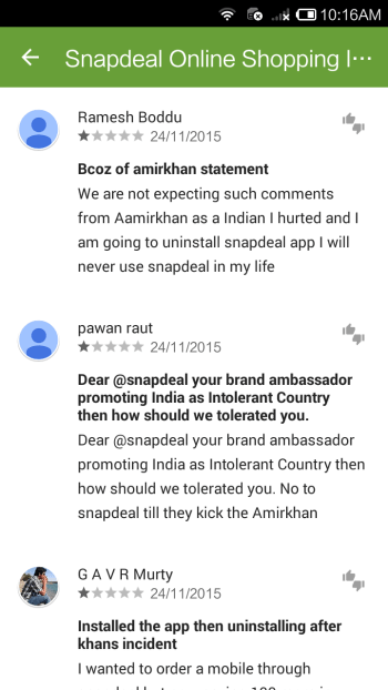 India-Snapdeal