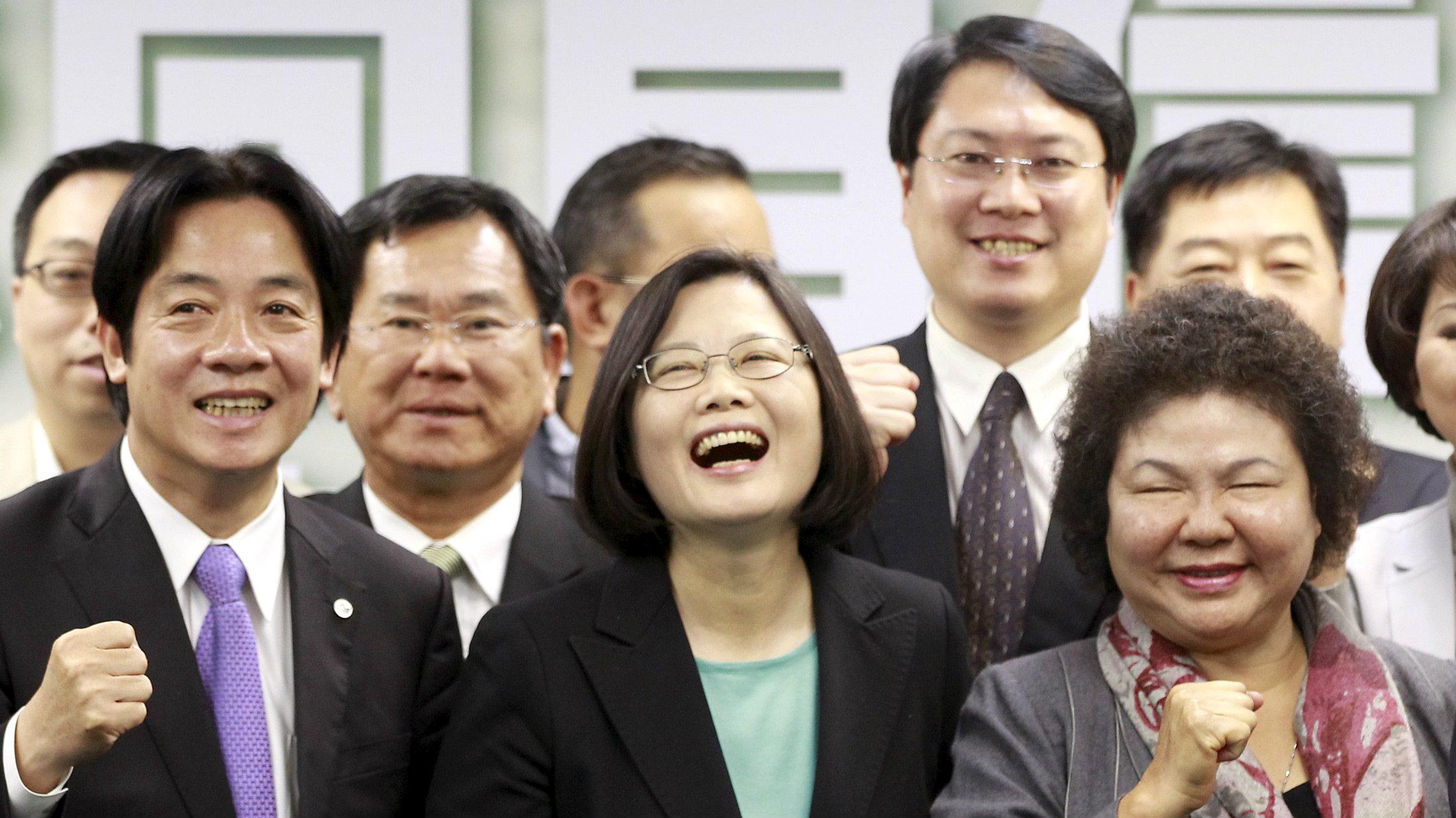 tsai ing-wen laugh