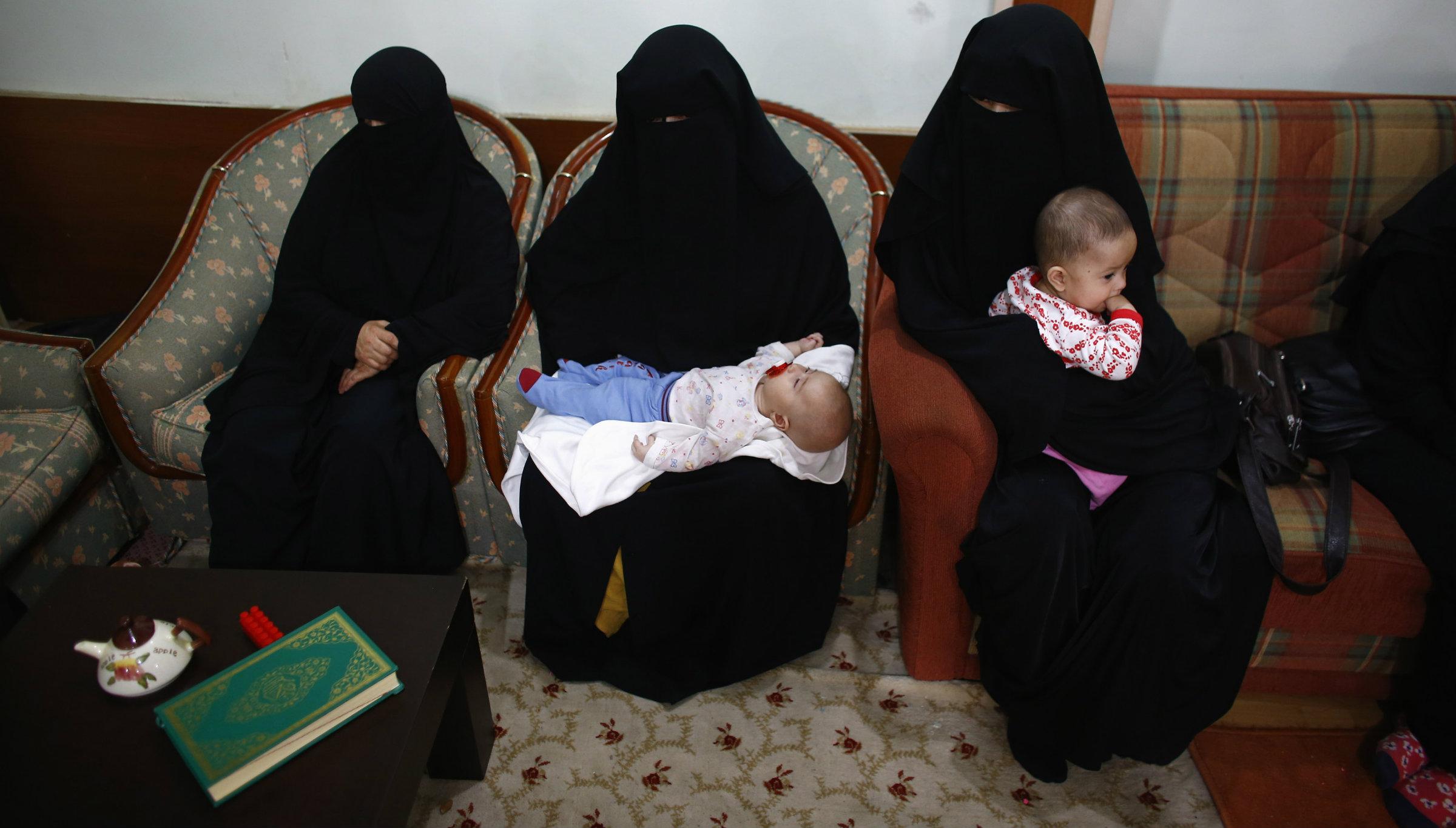 Uyghur women in Turkey