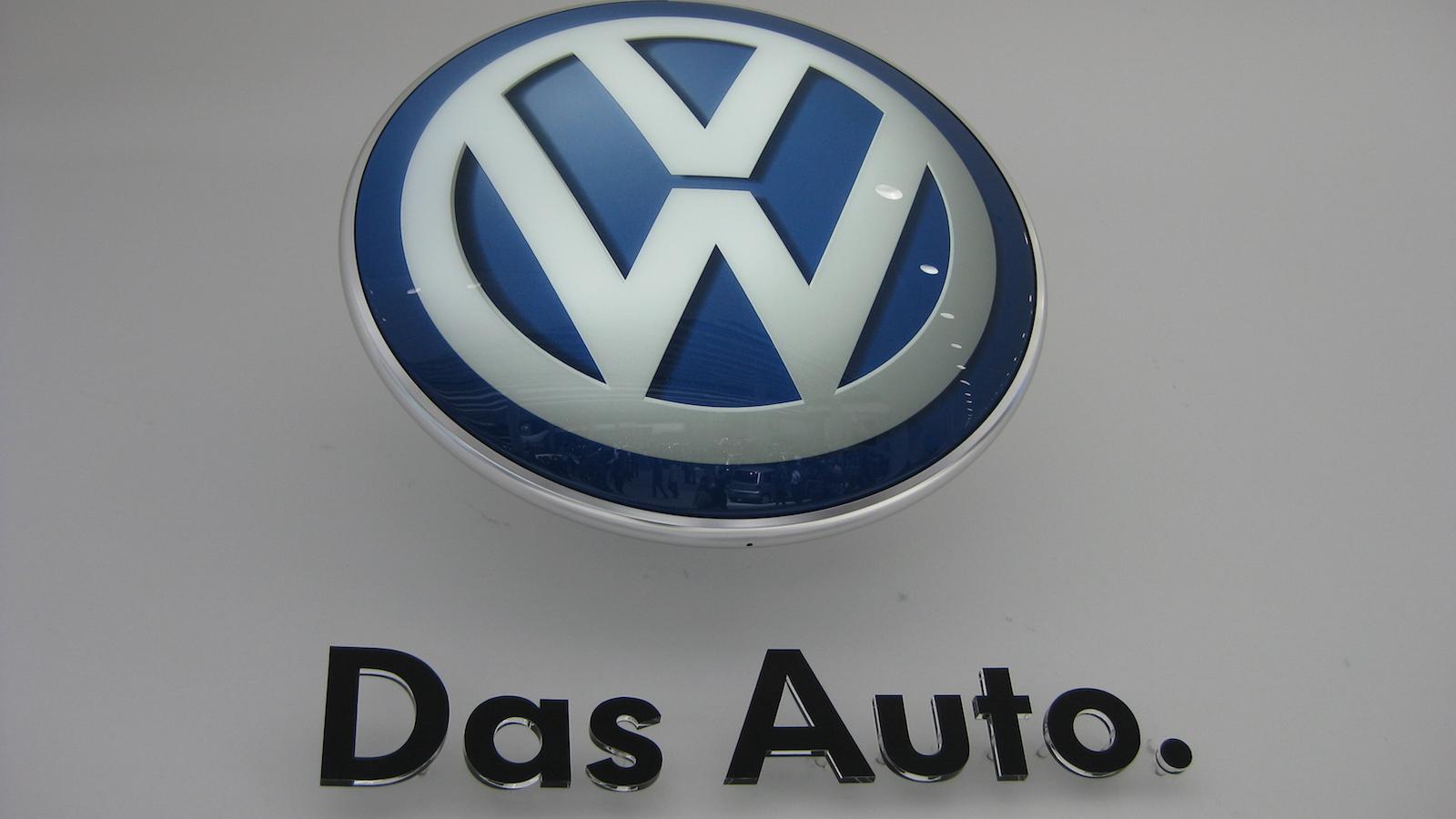 Volk Wagon Volkswagen Das Auto Logo