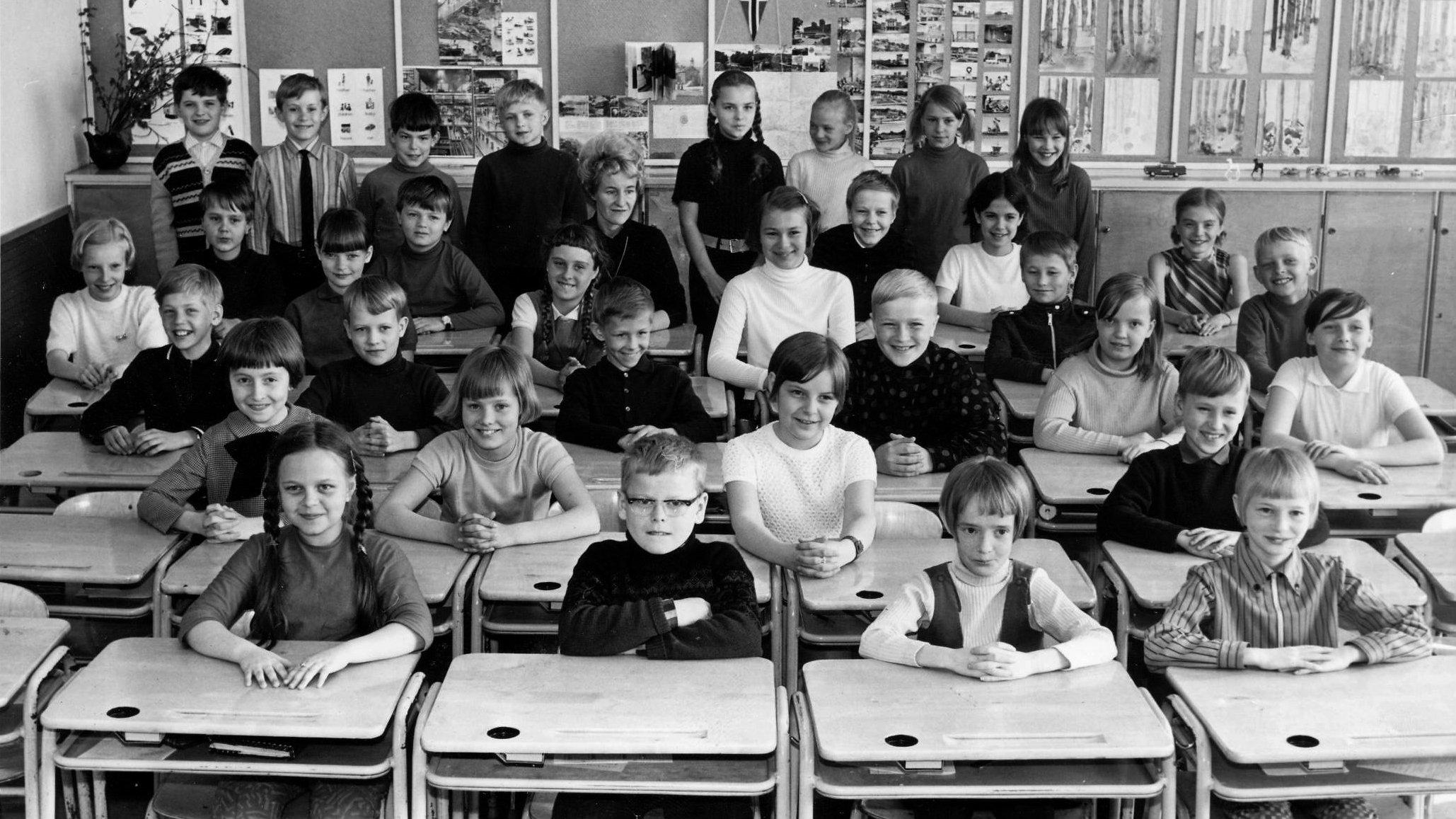 Classroom: 1968, Turku, Finland.