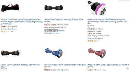 Amazon has pulled most hoverboards from its US and UK