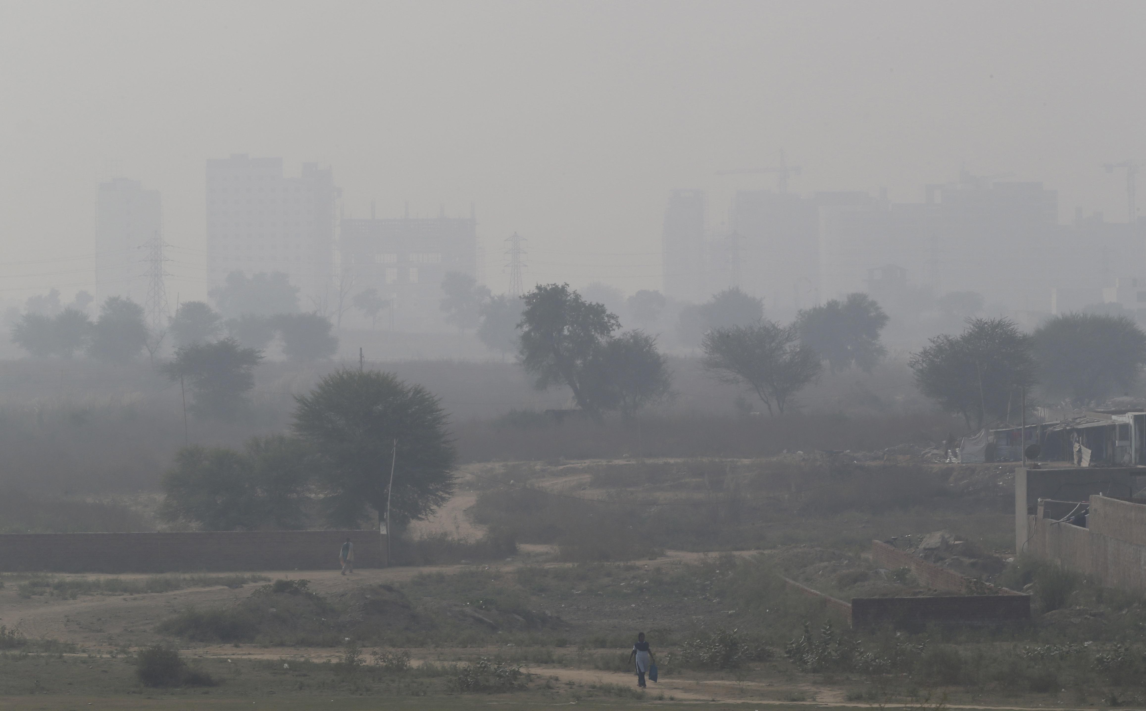 Smog-New Delhi-Paris talks