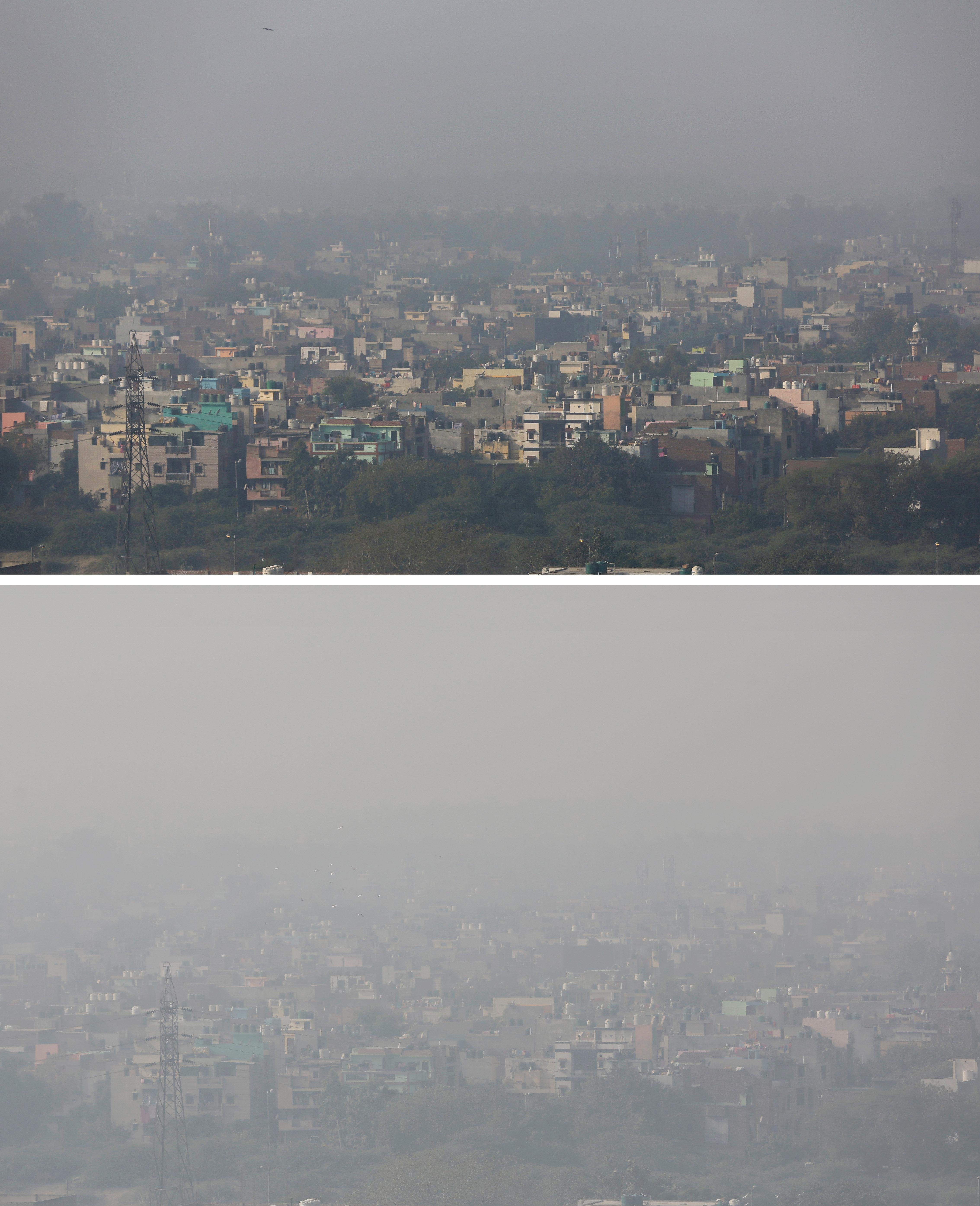 New Delhi-Pollution-Paris talks