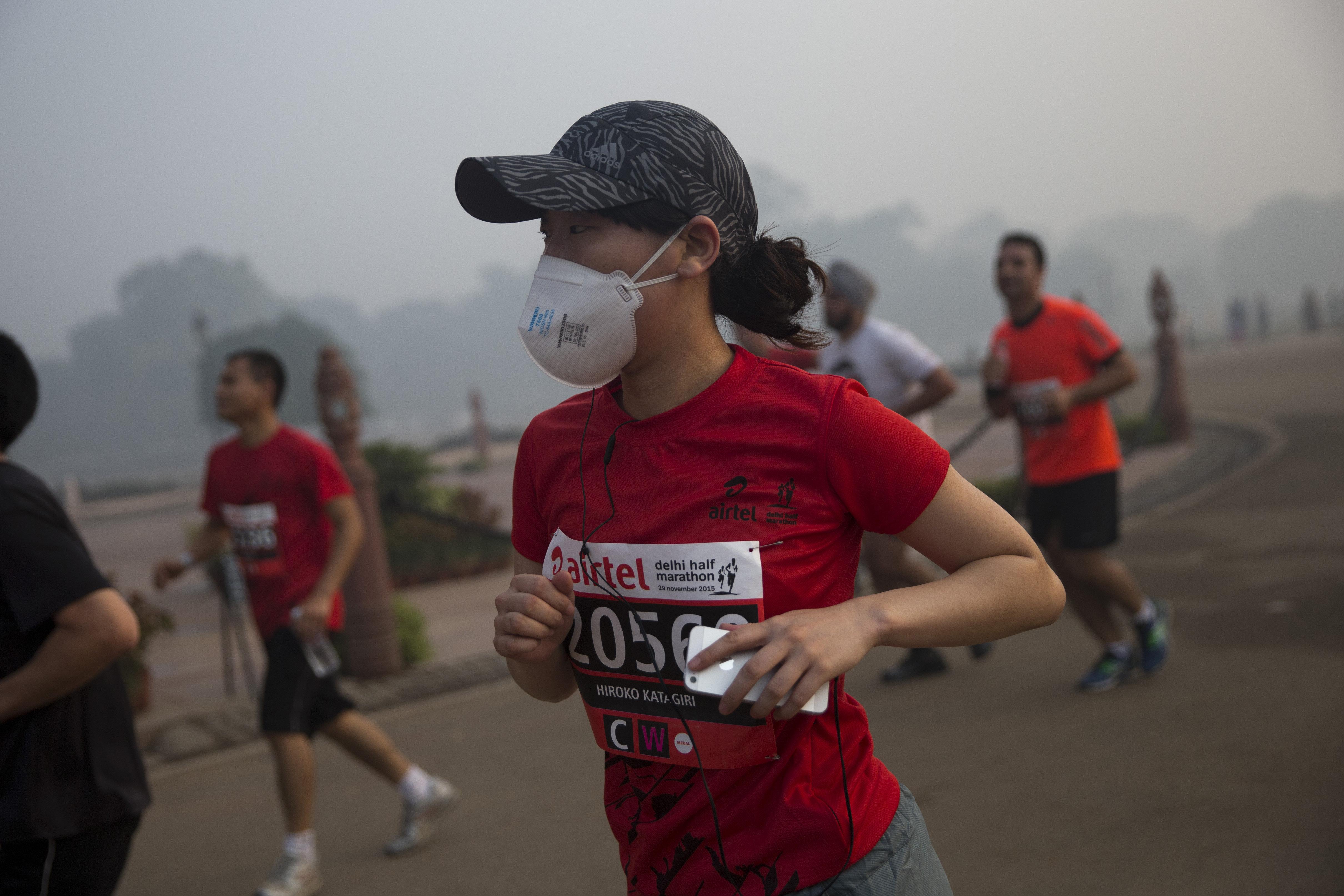Air pollution-New Delhi-Paris talks