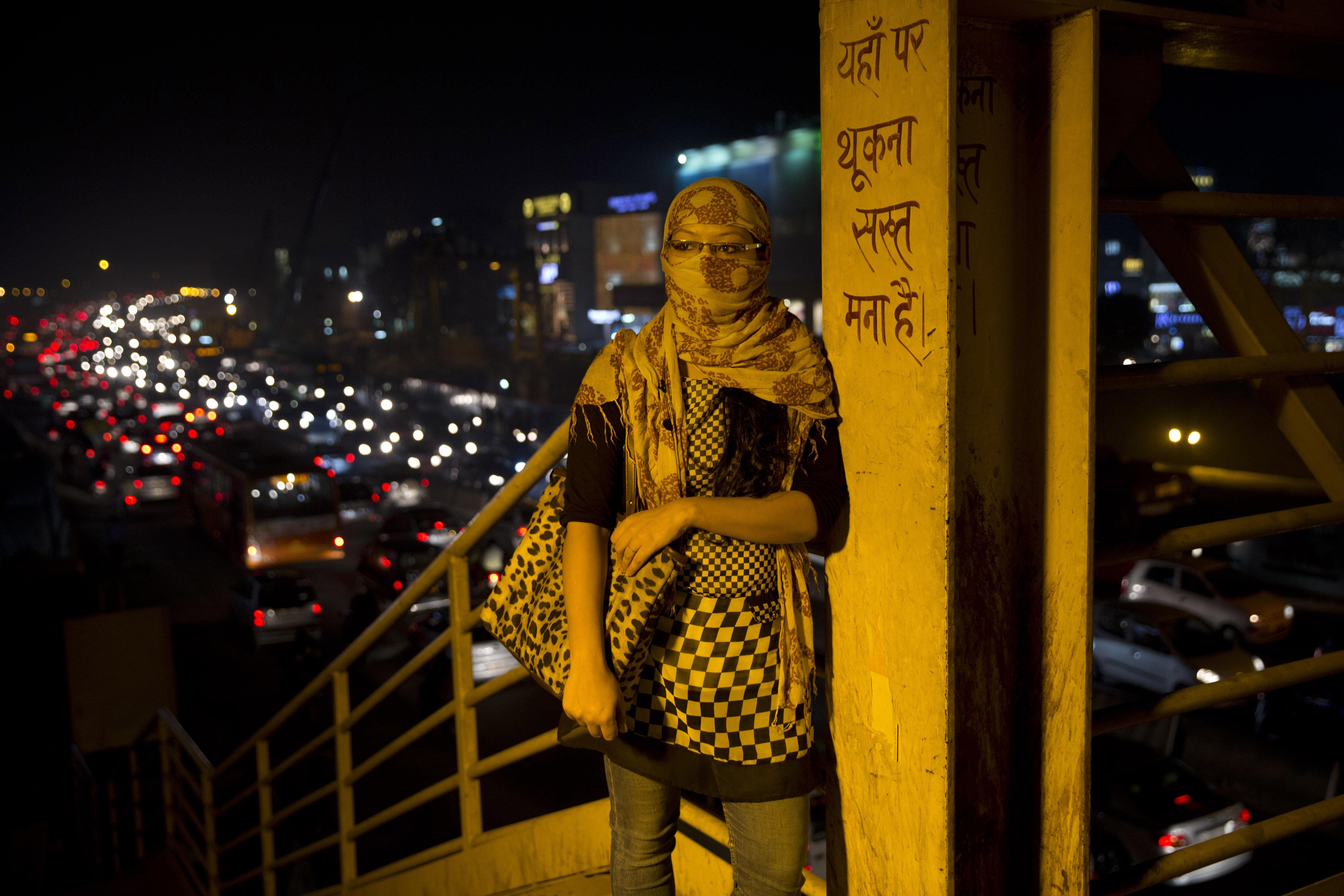 India-New Delhi-Air-Pollution-Toxic air-Paris climate talks-Climate change