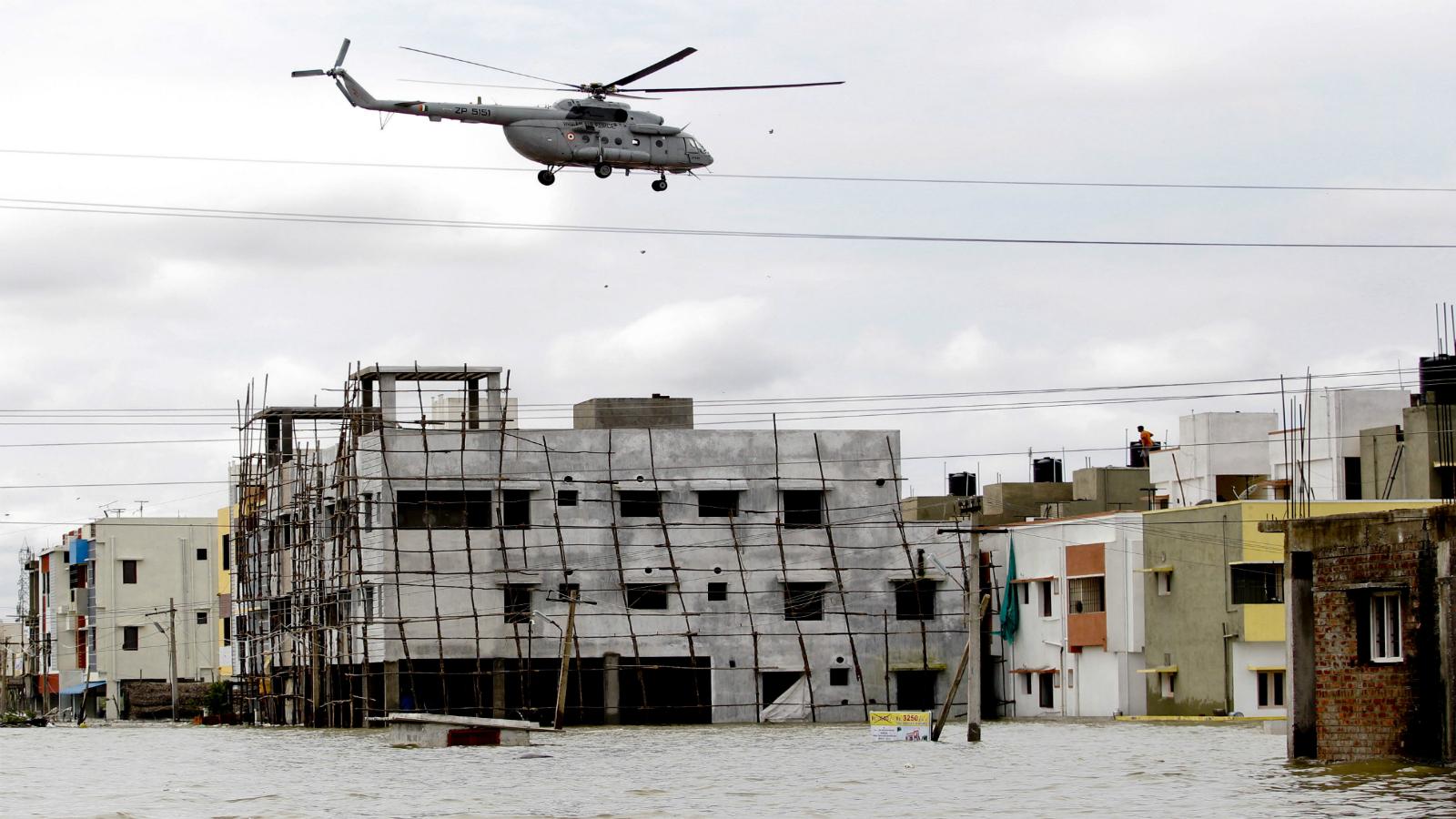 Chennai floods-Chennai rain-Chennai-relief work