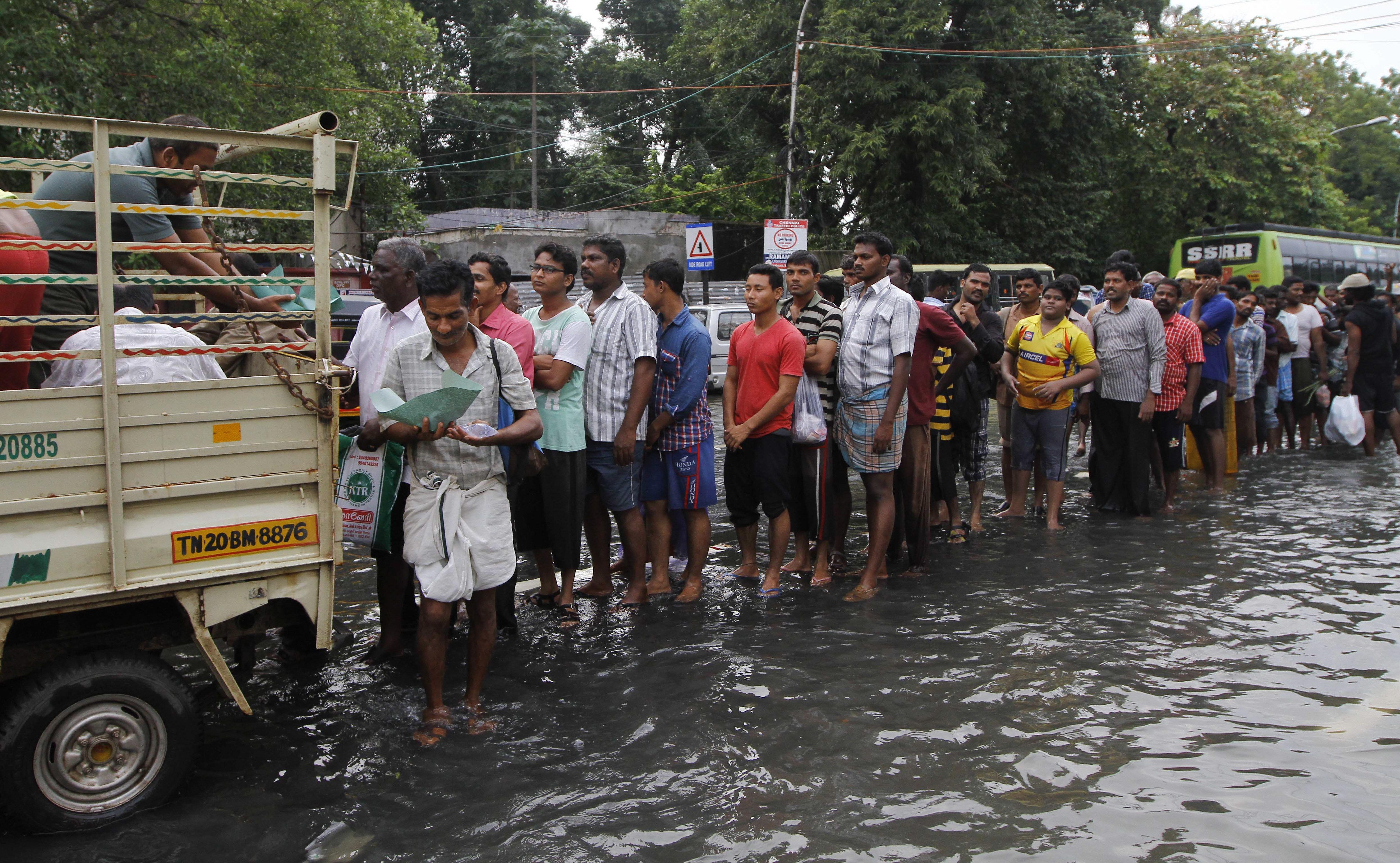 INDIA-CHINA-FLOOD