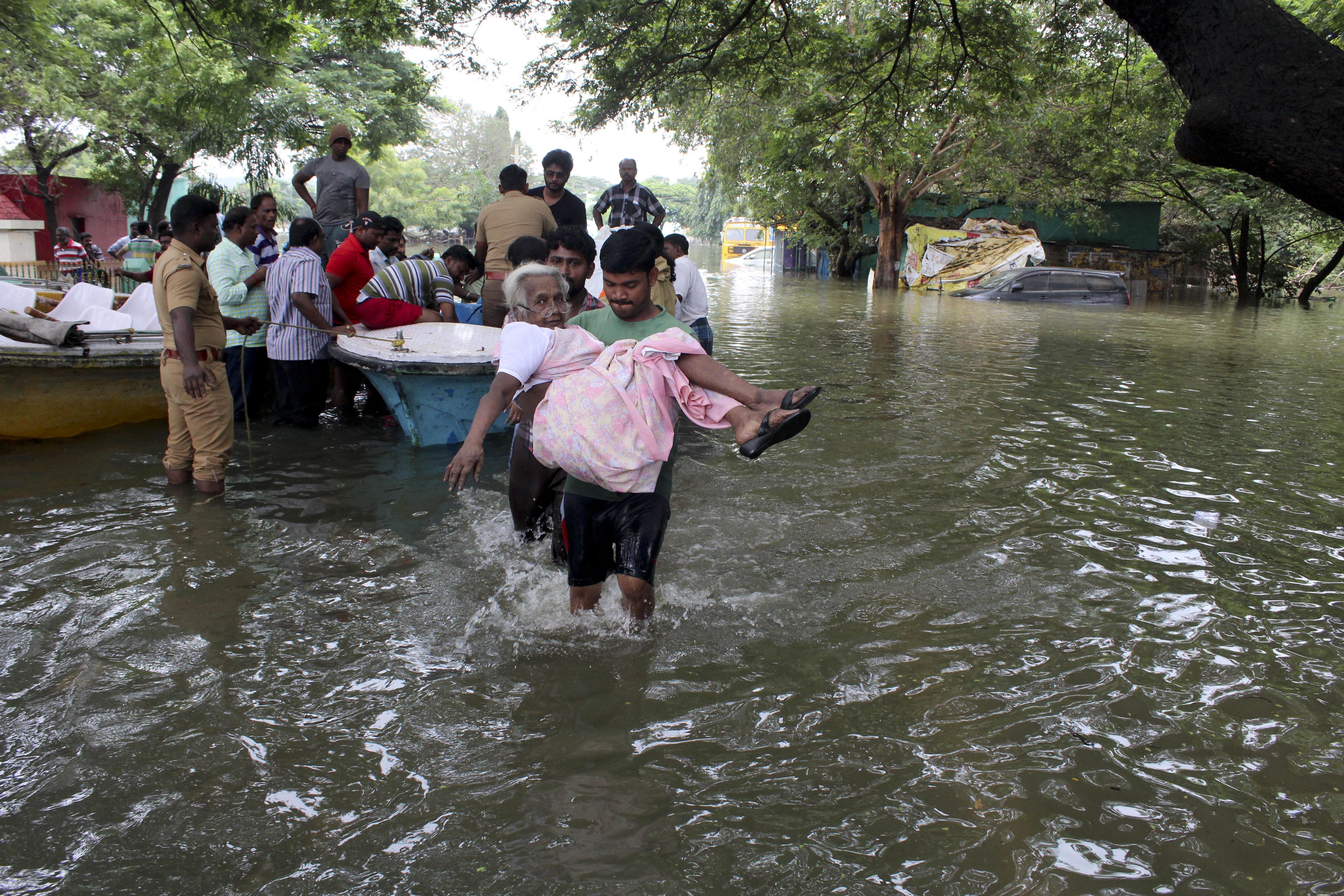 INDIA-CHENNAI-FLOOD