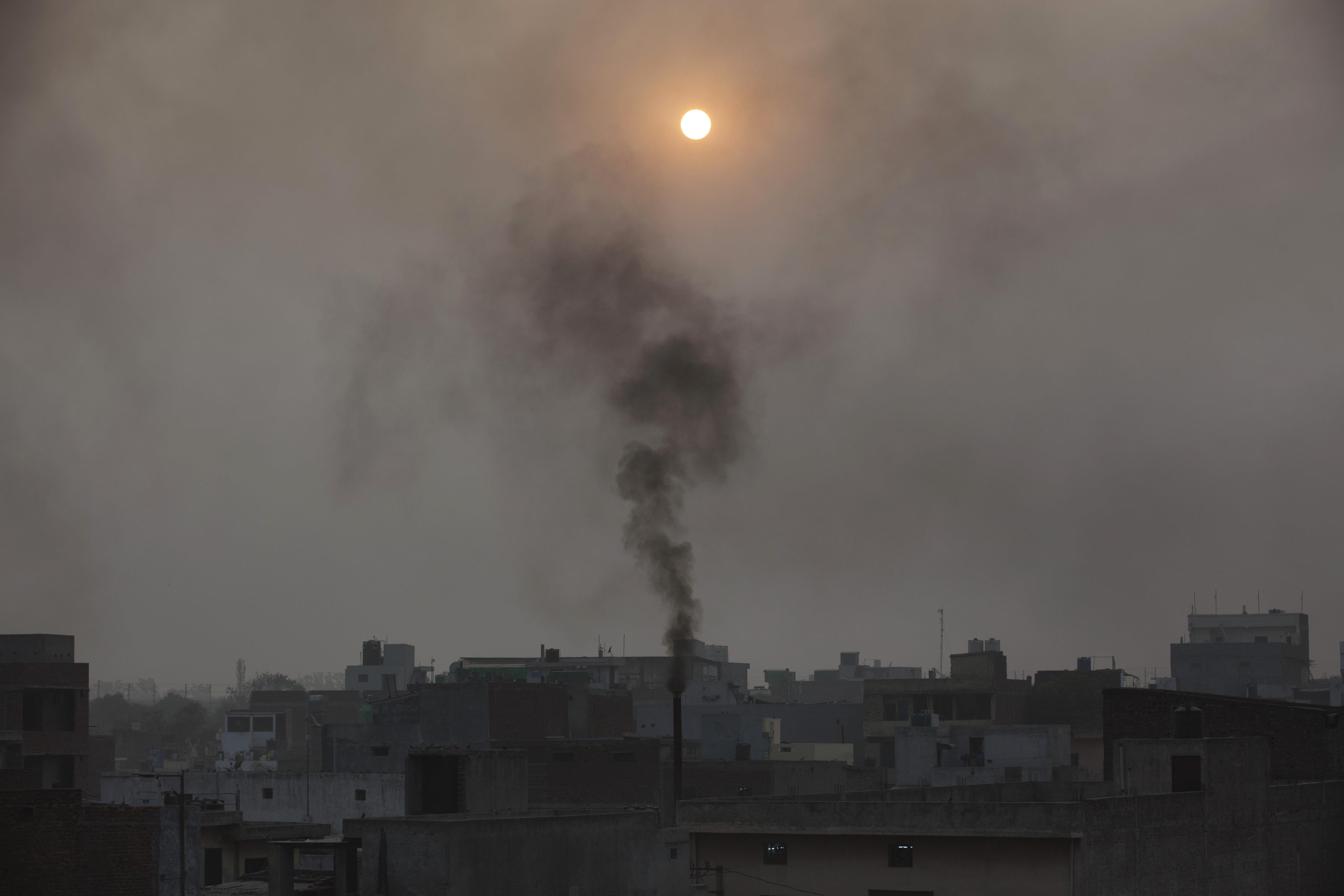 New Delhi-Pollution-Air-Narendra Modi-Health
