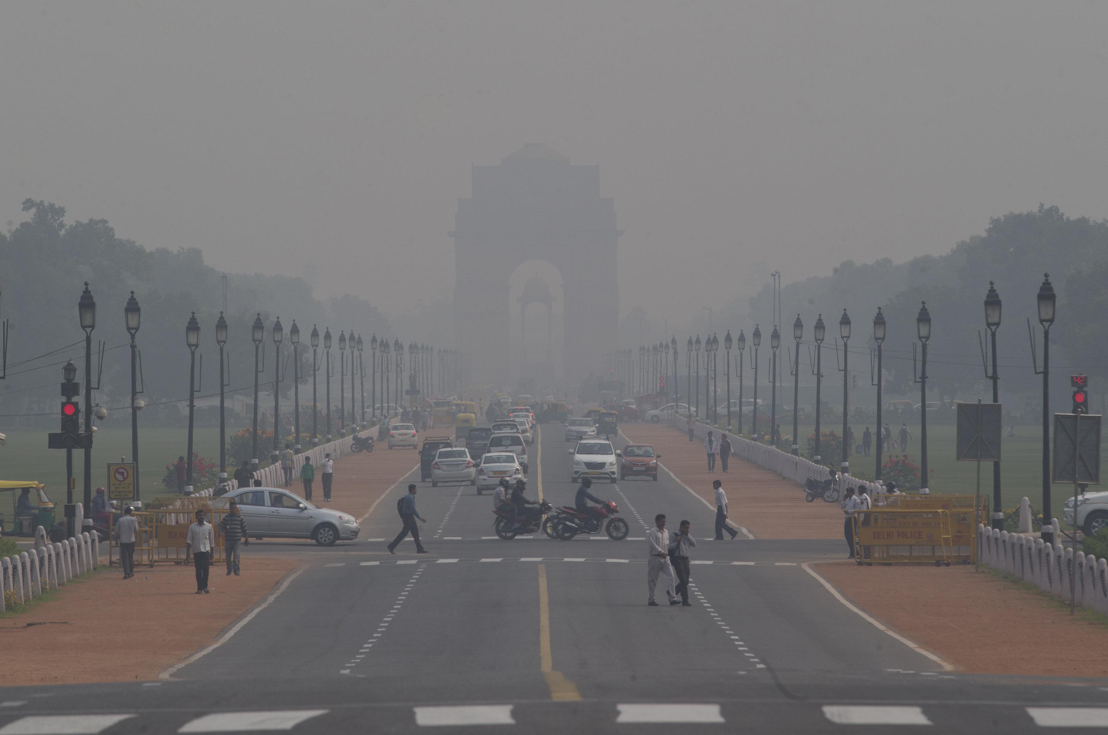 Air pollution-New Delhi-Smog-Narendra Modi-Paris