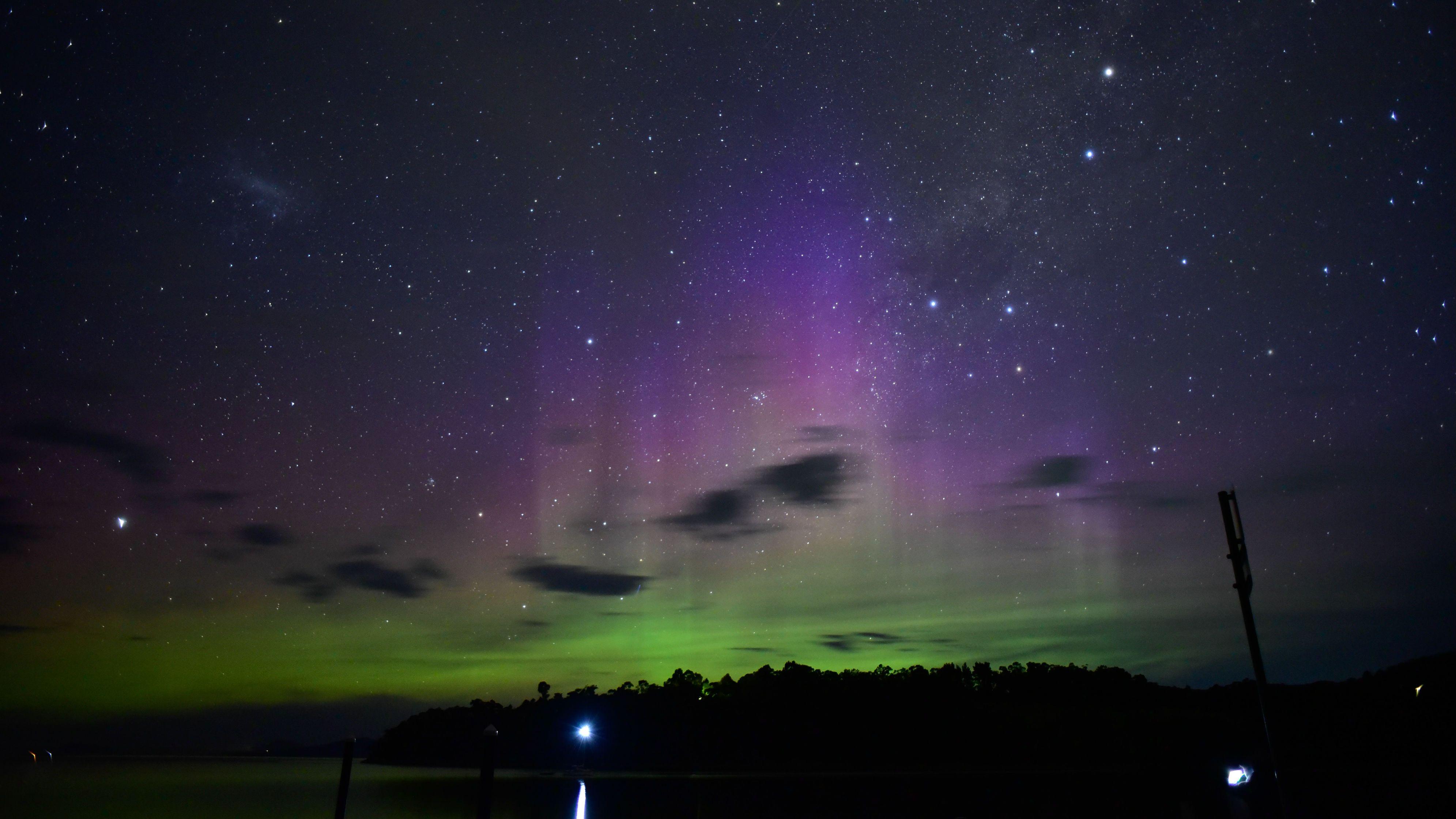 Aurora Australis in Australia