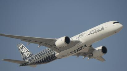 Airbus' A350 XWB – which took part in the Dubai Airshow's Day 2 flight presentations – brings together the latest in aerodynamics, design and advanced technologies