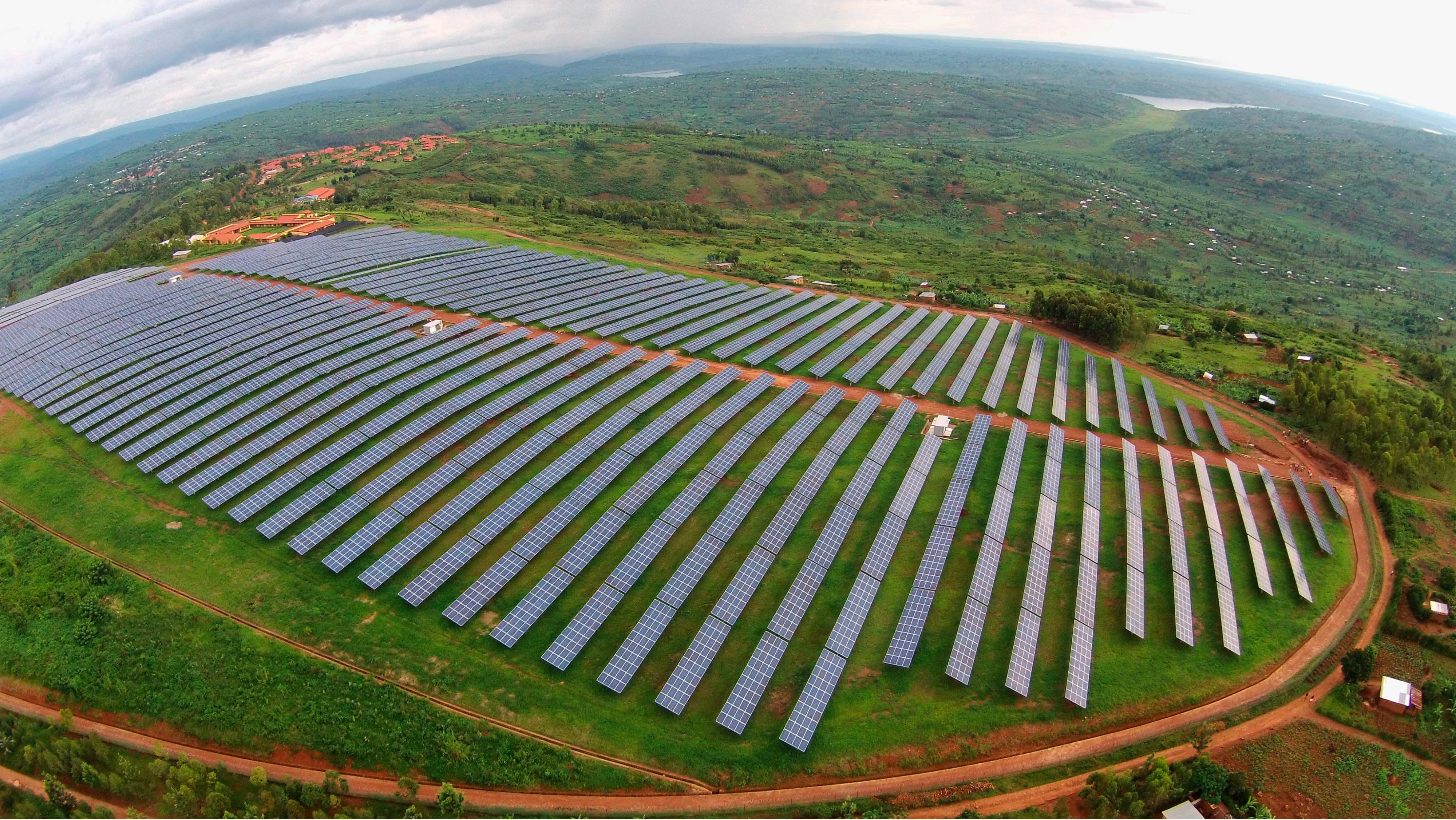 Rwanda S Eye Grabbing Solar Power Facility Has Roots In A