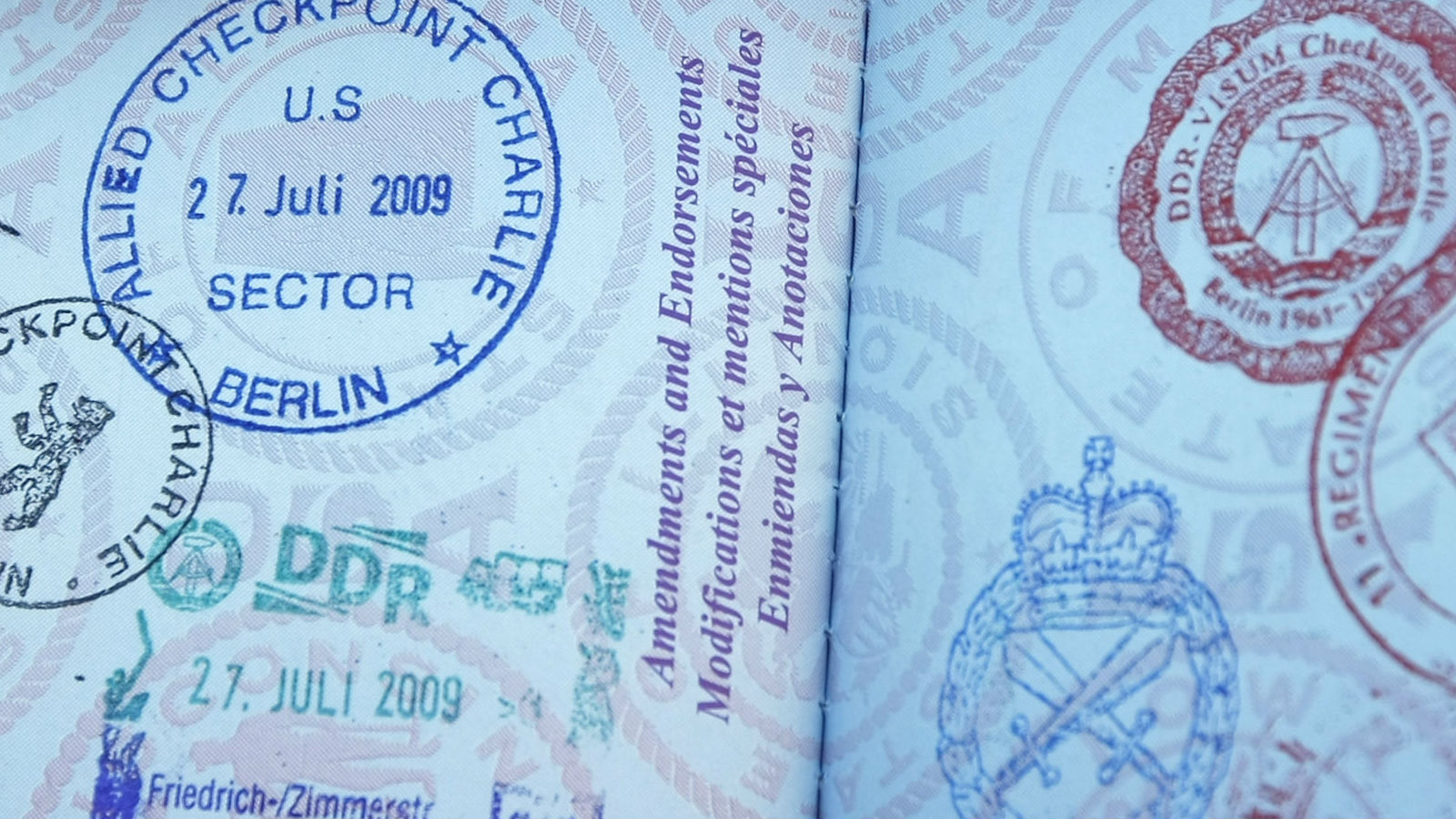 After 2016, you shouldn't let your passport get this full.