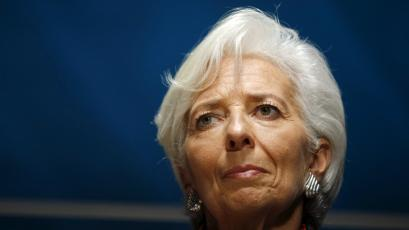 International Monetary Fund (IMF) Managing Director Christine Lagarde attends the 2015 IMF/World Bank Annual Meetings in Lima, Peru.