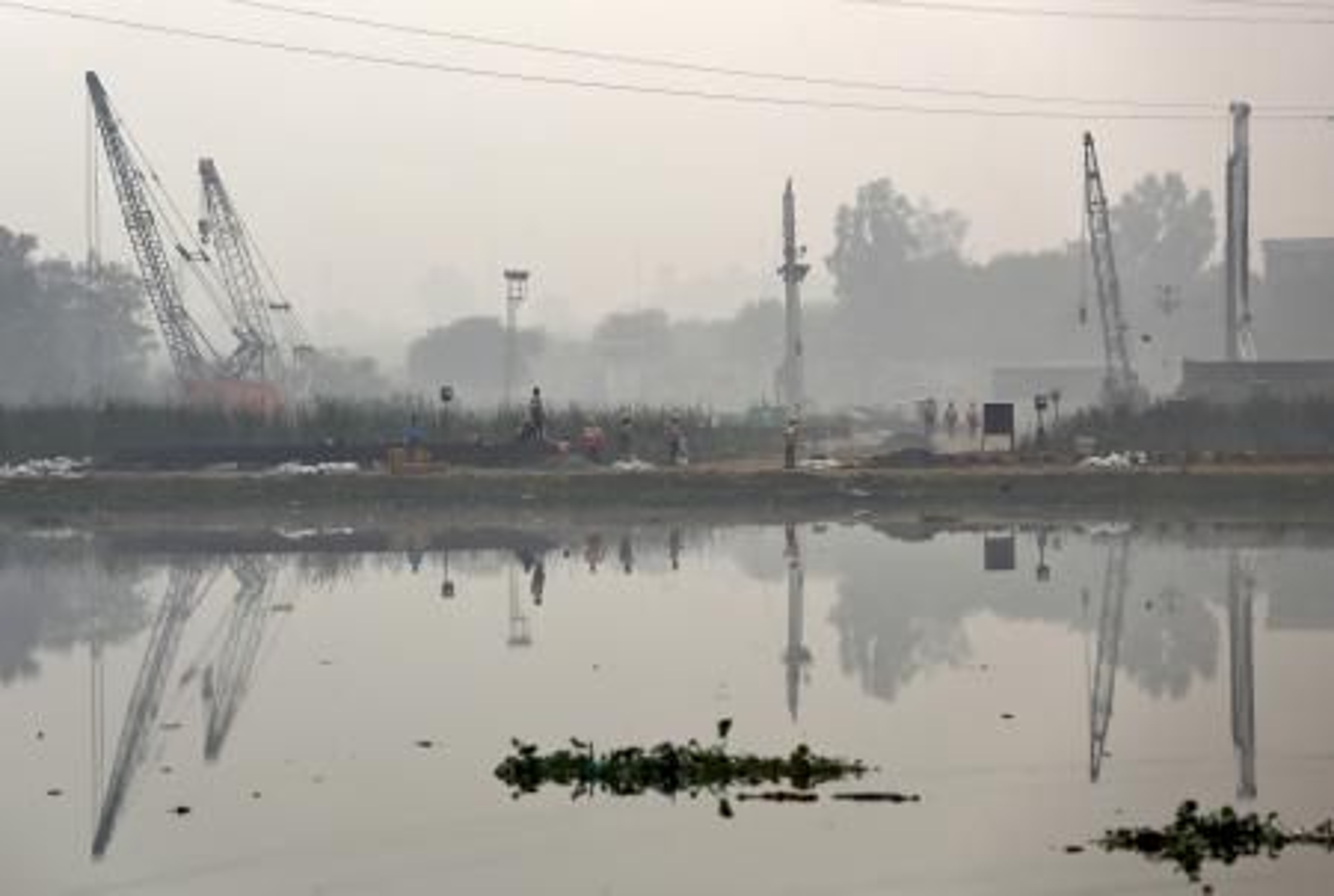New Delhi-Smog-Paris talks-Narendra Modi