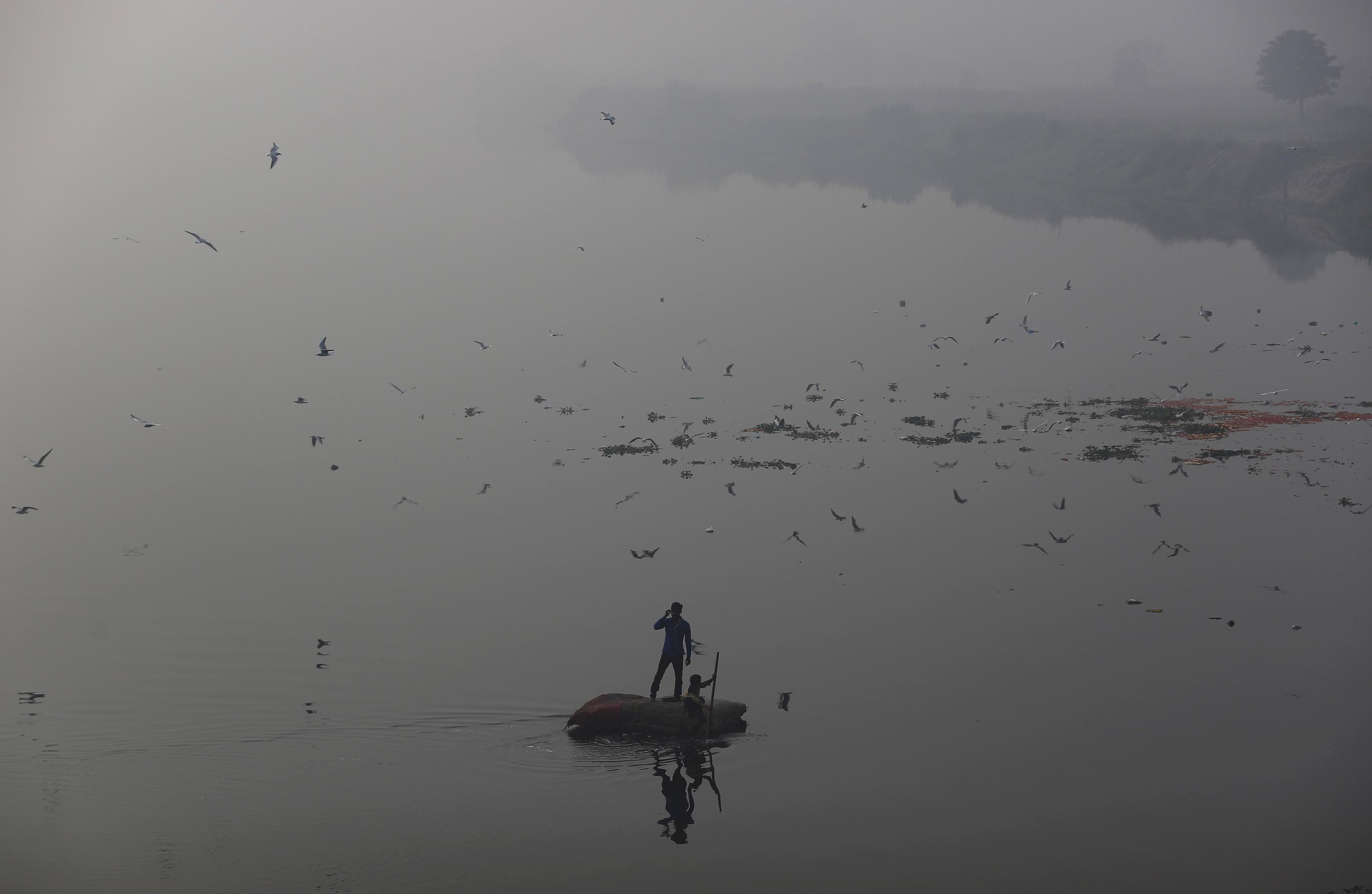Narendra Modi-India-smog-Paris talks-New Delhi