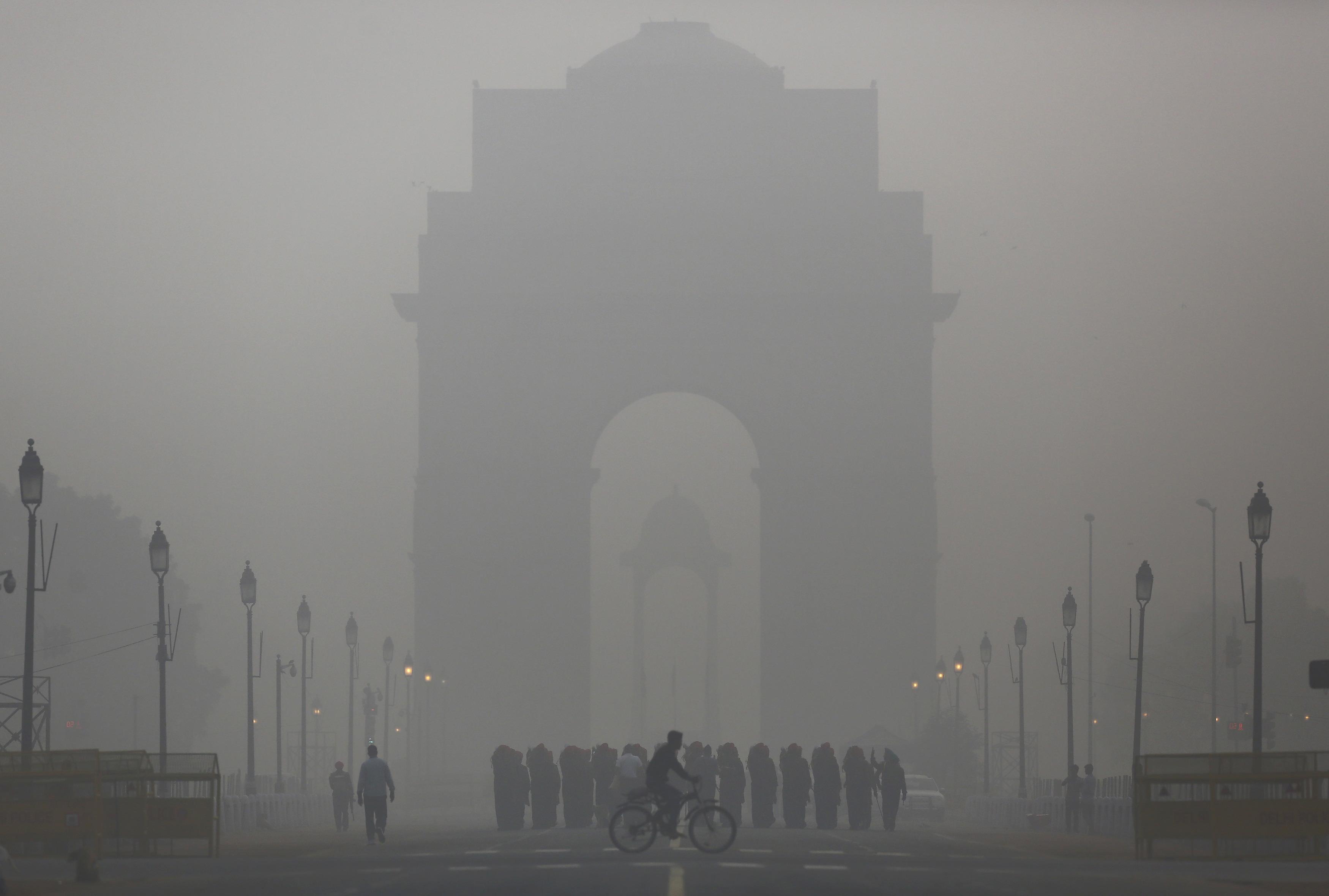 Narendra Modi-Barack Obama-Paris-Climate-New Delhi-Smog