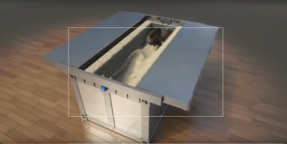 Earthquake-proof bed