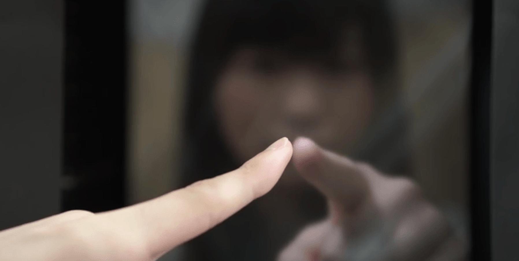 A screenshot from the Haptoclone demonstration video. http://www.hapis.k.u-tokyo.ac.jp/?portfolio=haptoclone&lang=en