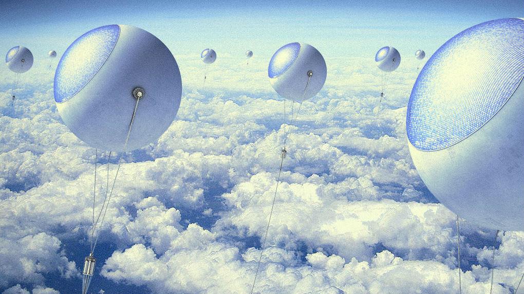 solar power energy balloons