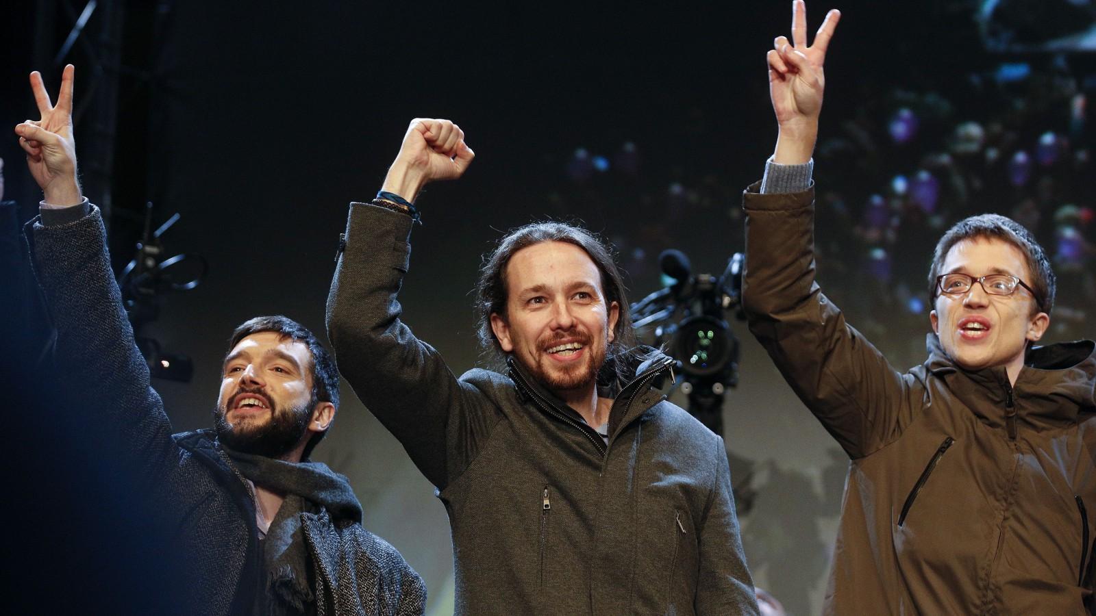 Pablo Iglesias of Podemos