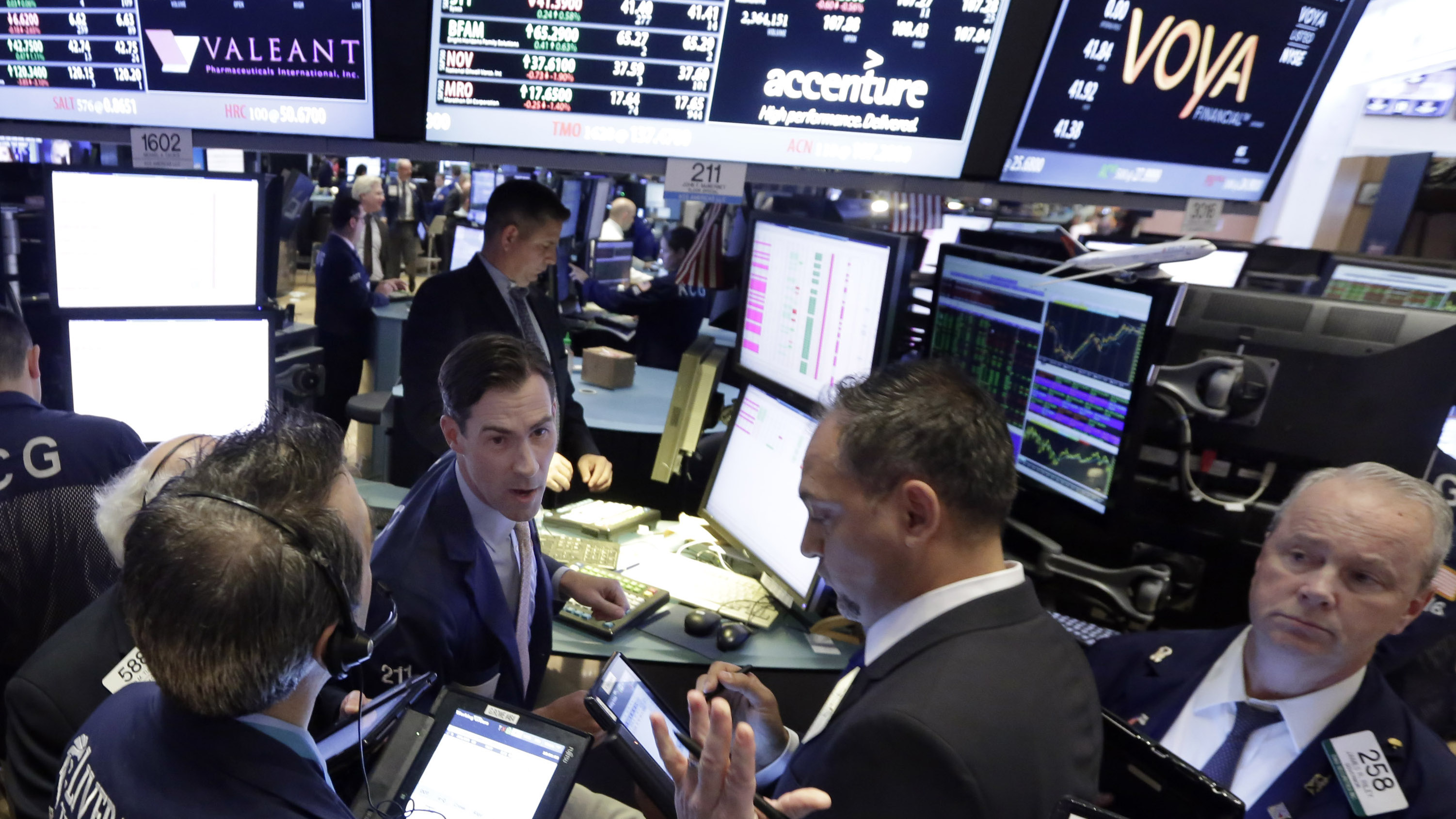 Wall St traders