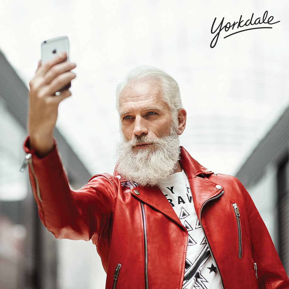 Fashion Santa is real, and he\u0027s bringing money to sick kids