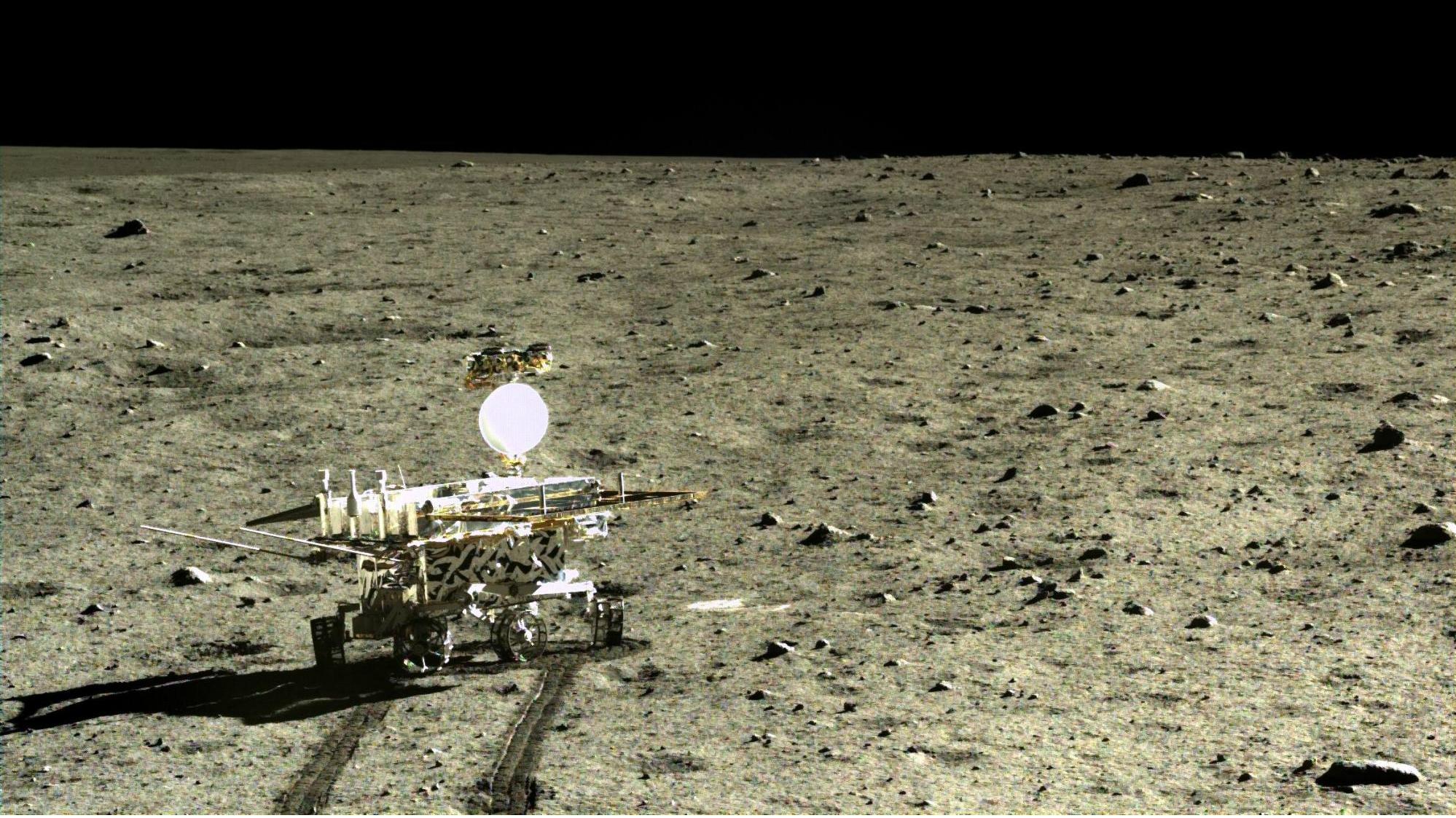 china, moon rover