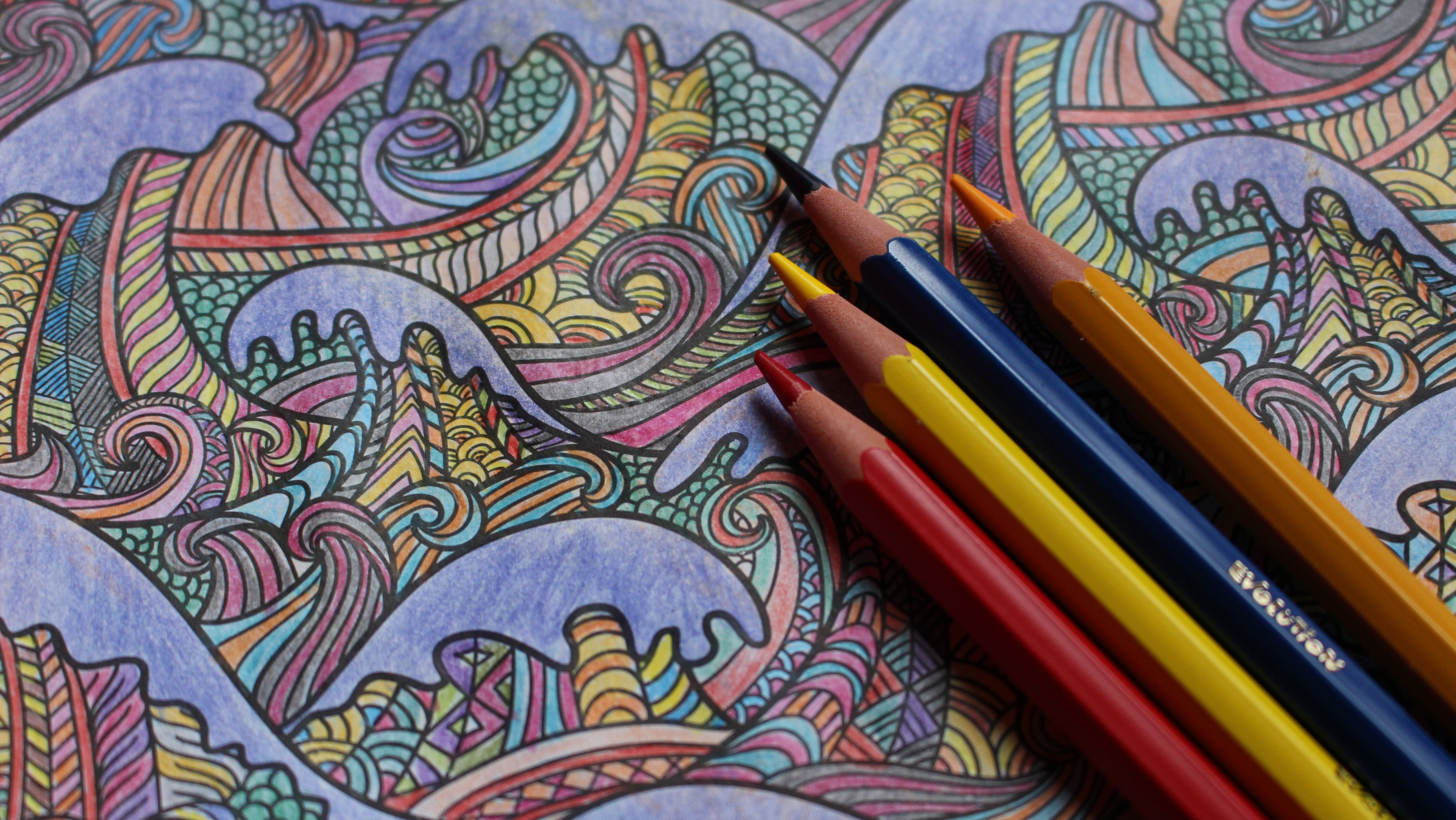 If you want to be a bestselling author, make an adult coloring book ...