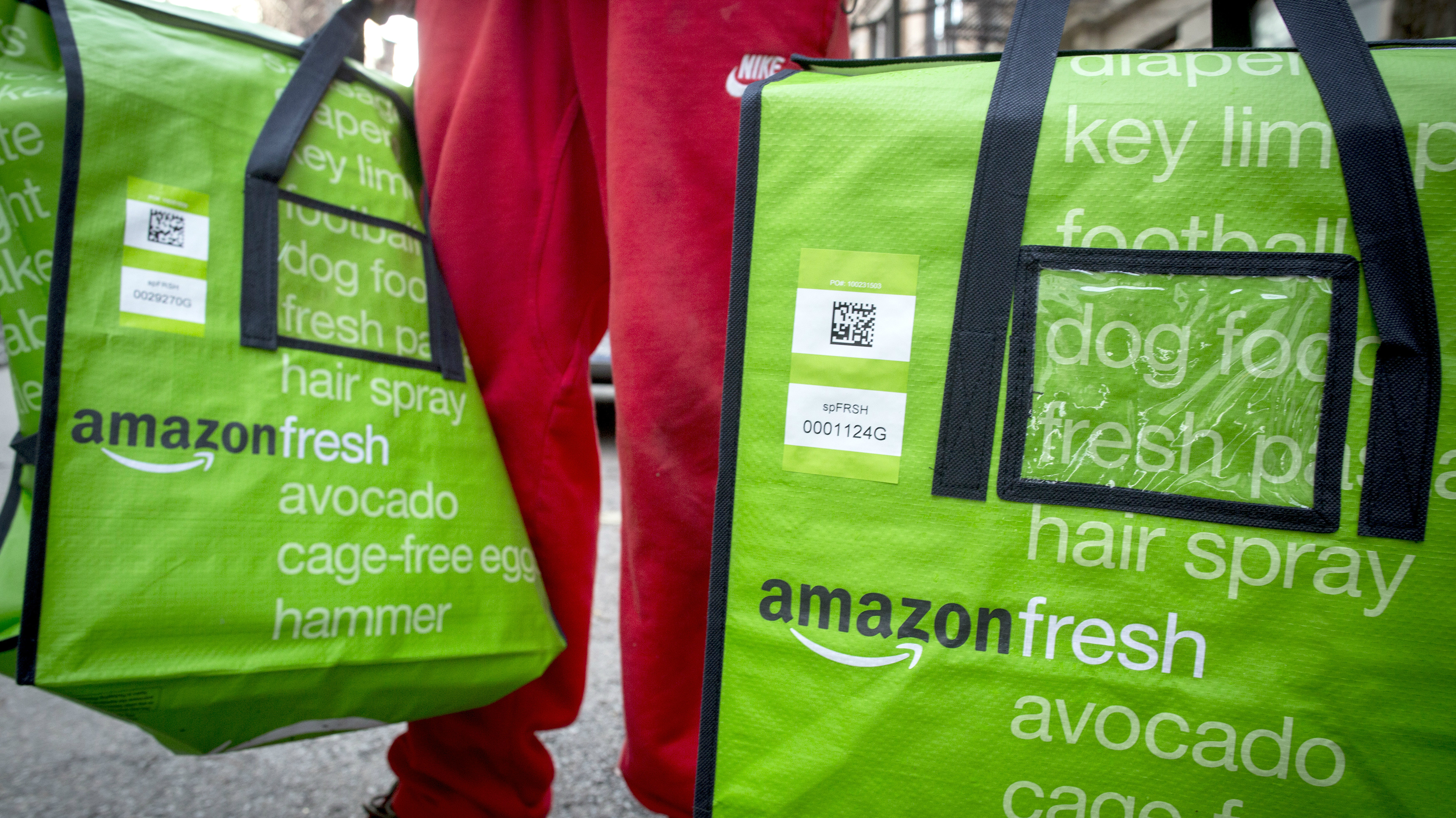 Amazon has found success in the UK for online grocery shopping, now its eyeing large cities across Europe.