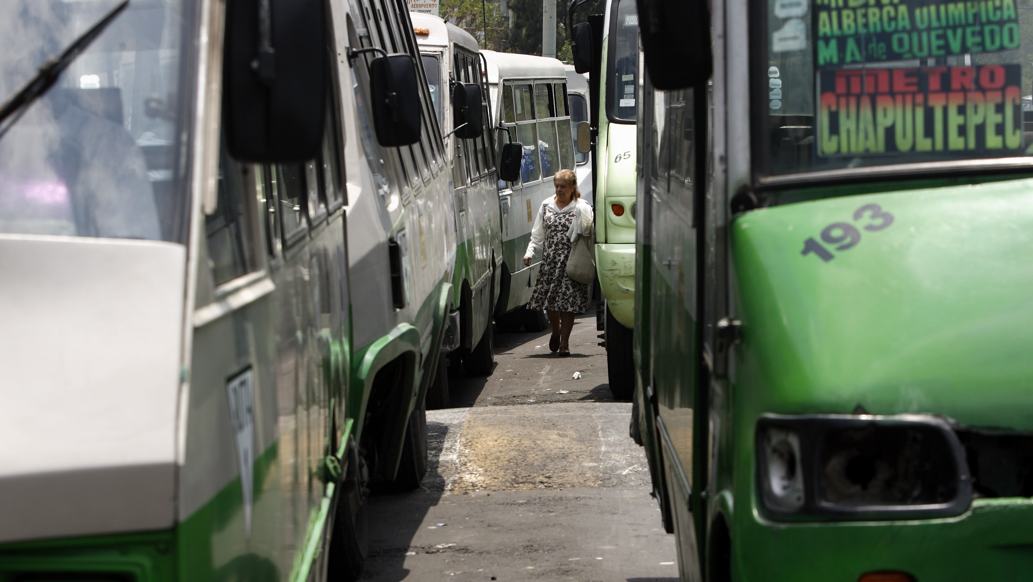 Mexico City is attempting to map its more than 1000 unwieldy bus