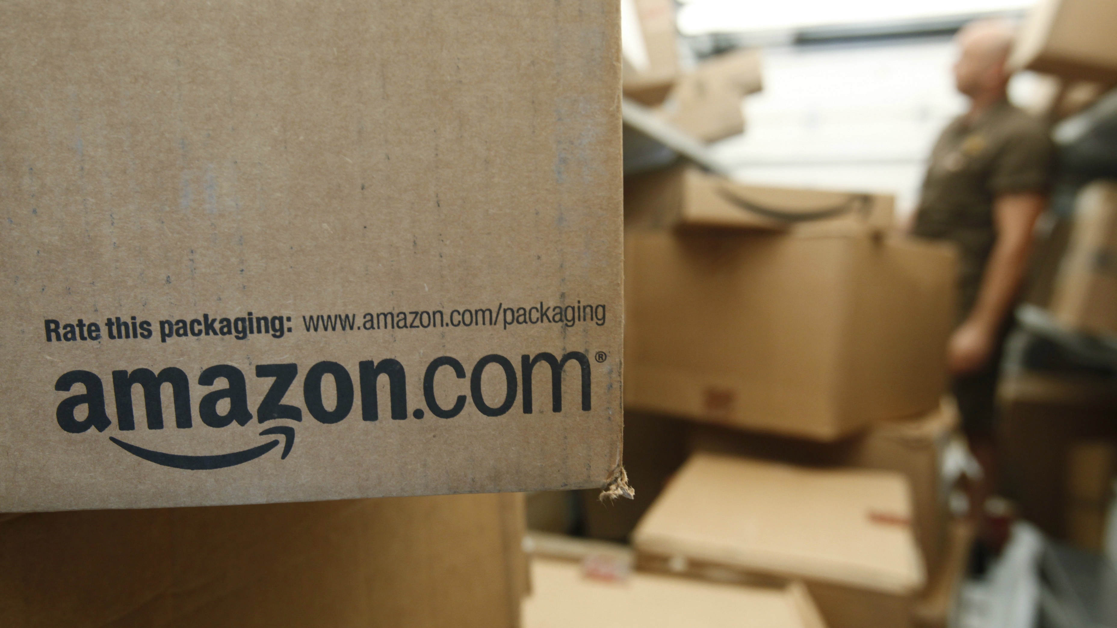 Amazon joins Walmart and Costco as retailers who bring in at least $100 billion in sales.