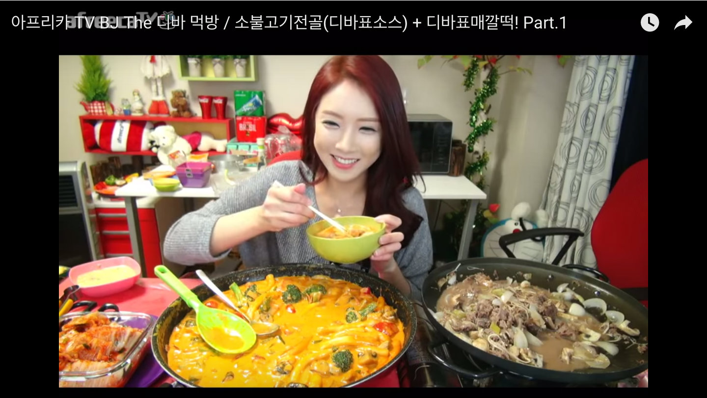 why some koreans make $10,000 a month to eat on camera — quartz