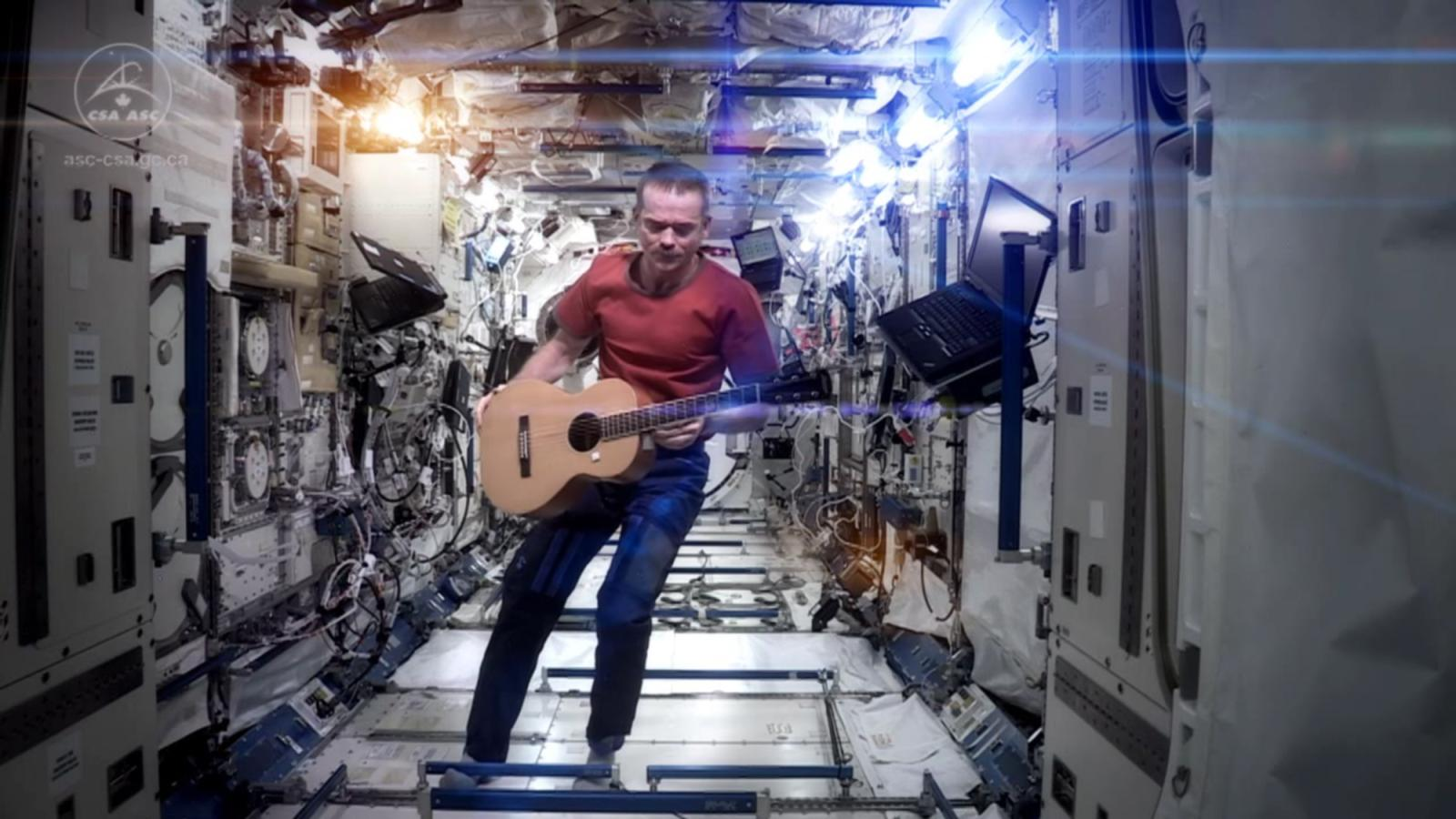 Its Surprisingly Difficult To Play Guitar In Space Quartz