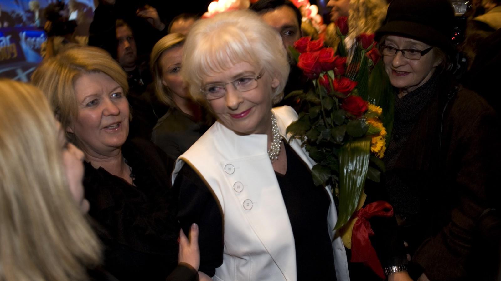 Johanna Sigurdardottir, former prime minister of Iceland, in 2009.
