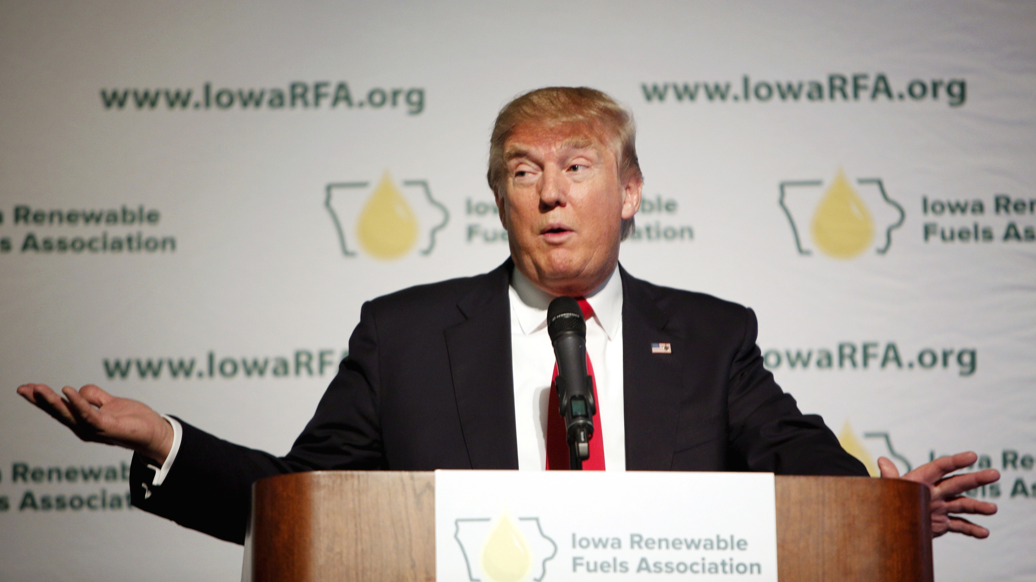 "More ""maybe-voters"" turning out in Iowa is good news for Donald Trump."