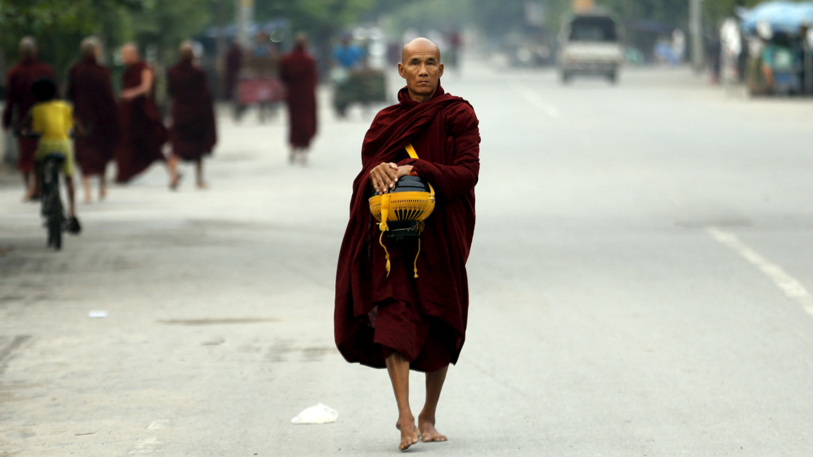 Desire sexual women for monks