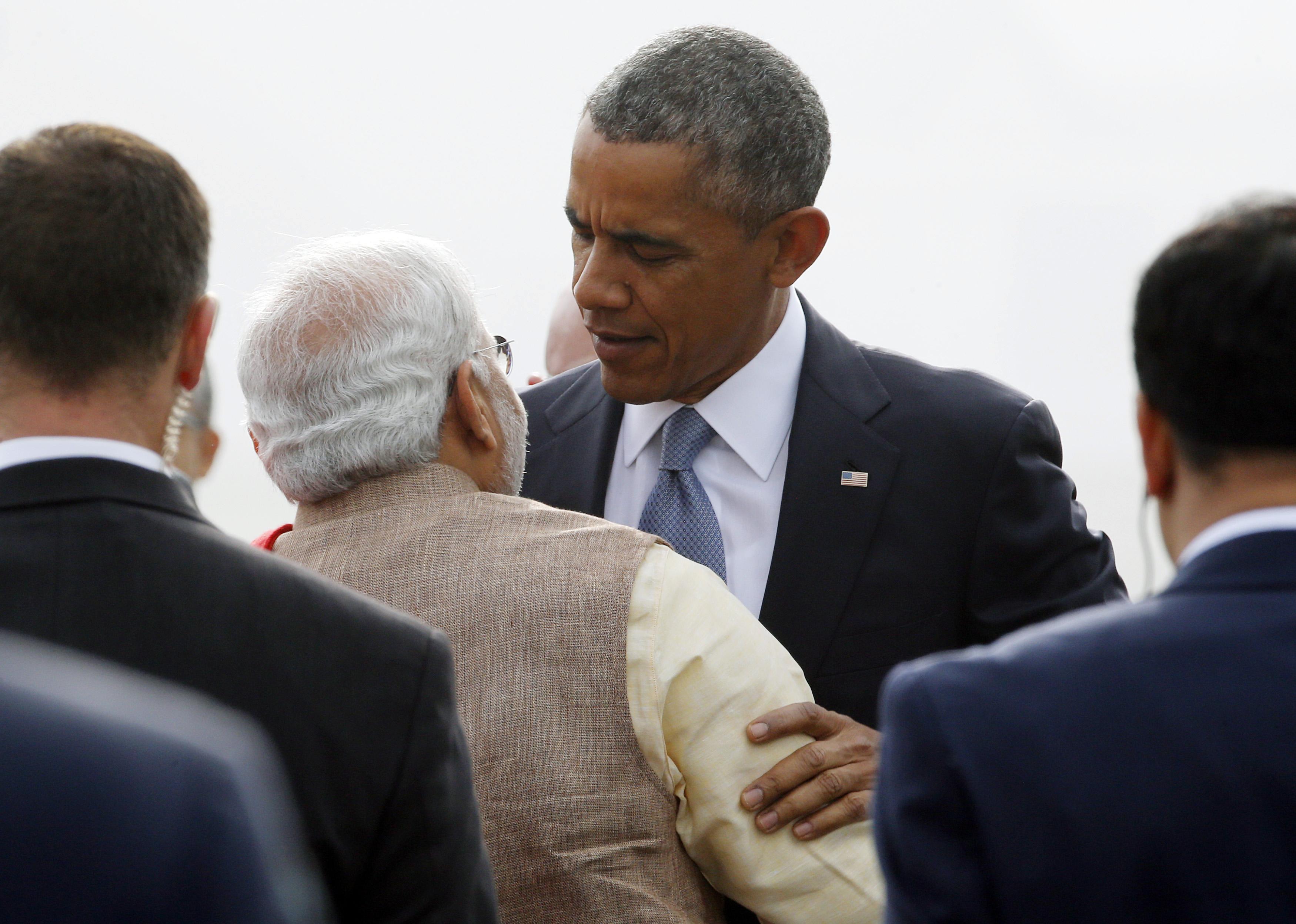 Modi-Obama-Hug