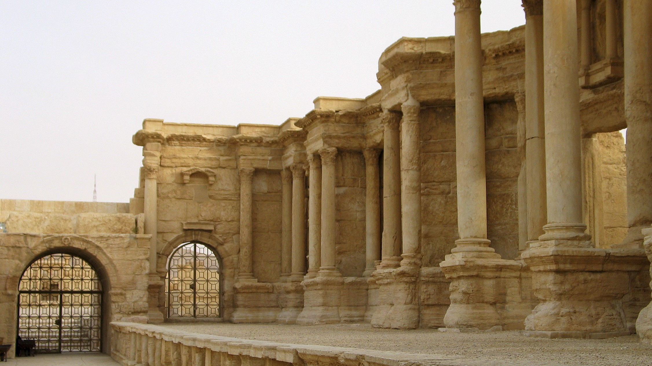 Columns are seen in the historical city of Palmyra, Syria, June 12, 2009. Satellite images have confirmed the destruction of the Temple of Bel, which was one of the best preserved Roman-era sites in the Syrian city of Palmyra, a United Nations agency said, after activists said the hardline Islamic State group had targeted it. The Syrian Observatory for Human Rights monitoring group and other activists said on August 30, 2015 that Islamic State had destroyed part of the more than 2,000-year-old temple, one of Palmyra's most important monuments. Picture taken June 12, 2009