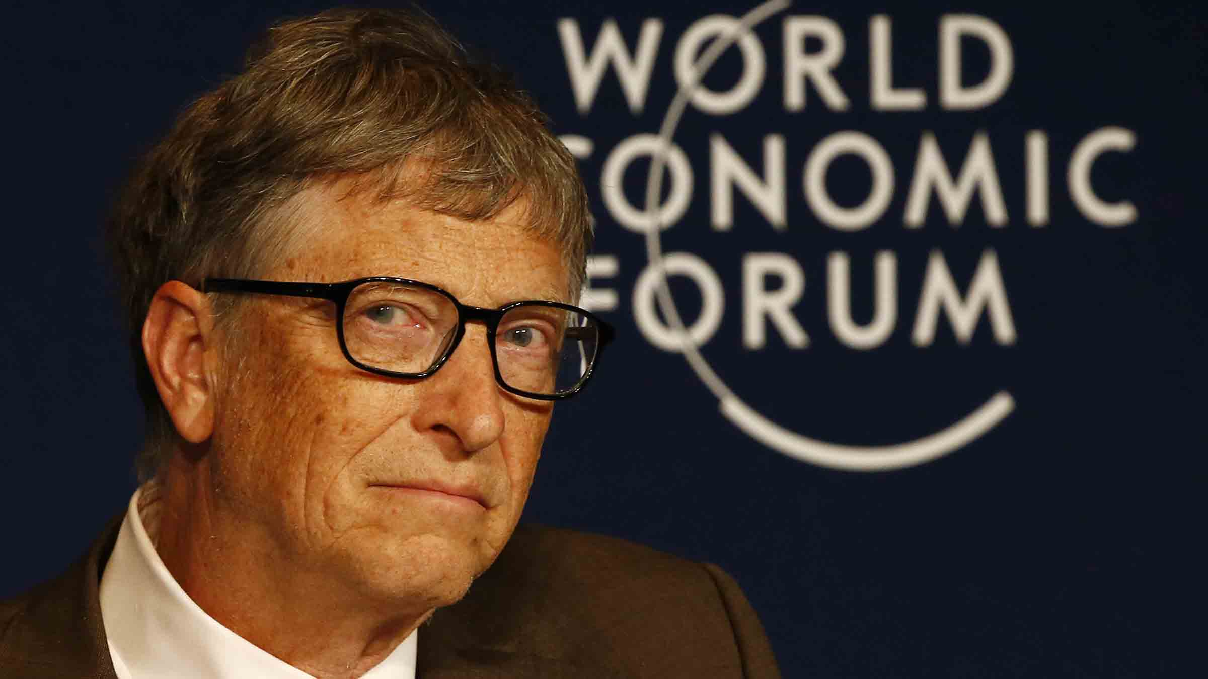 Microsoft co-founder Gates attends the annual meeting of the World Economic Forum (WEF) in Davos