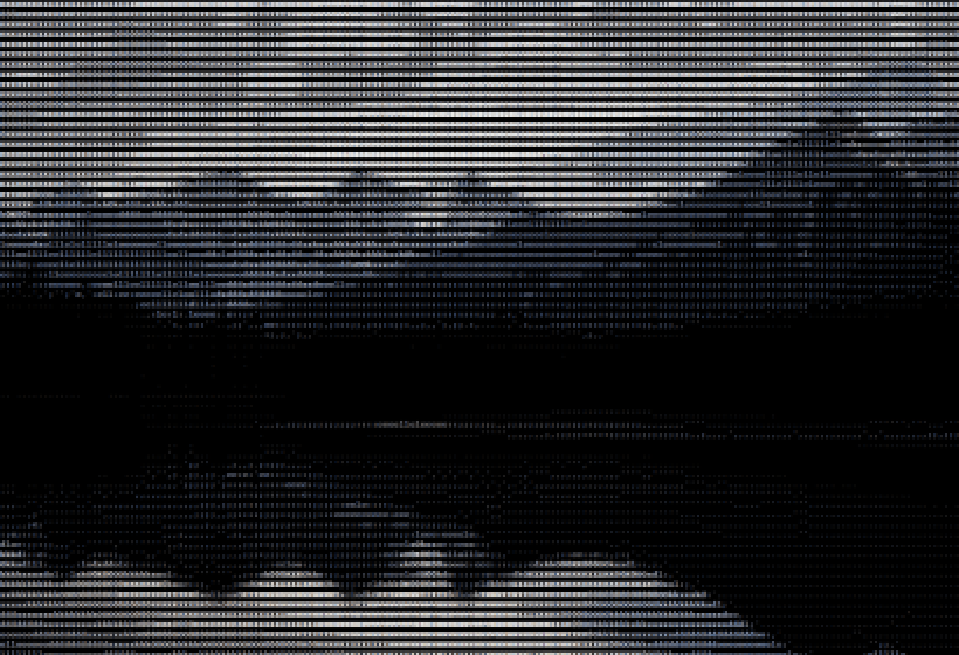 ASCII version of an Instagram image