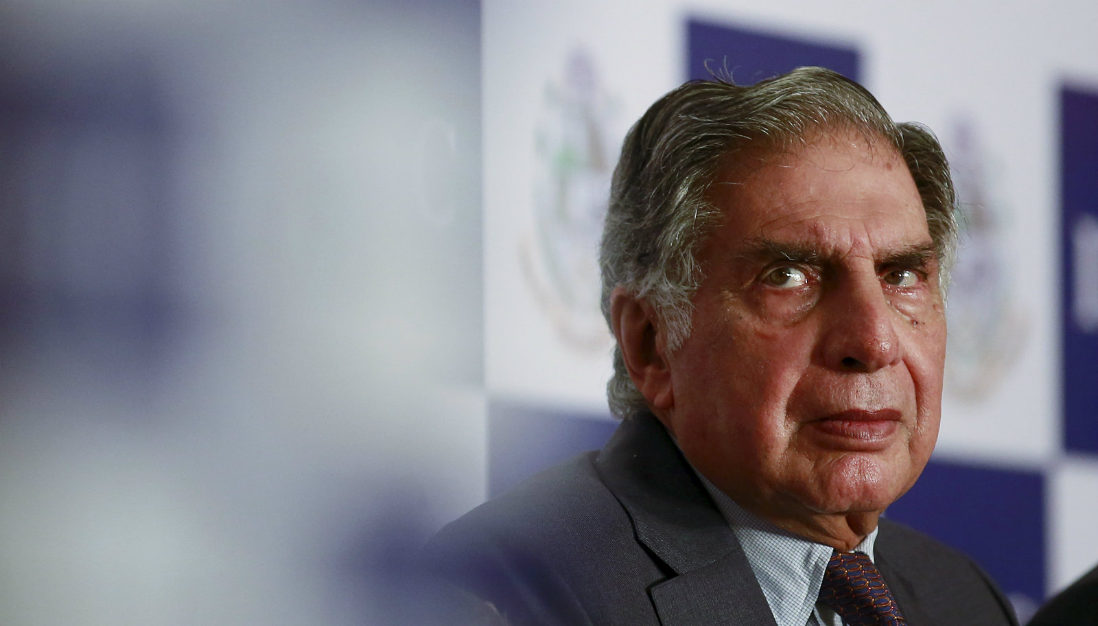 Tata Group Chairman Emeritus Ratan Tata attends a panel discussion during the annual general meeting of Indian Merchants' Chamber (IMC) in Mumbai, India, June 18, 2015.