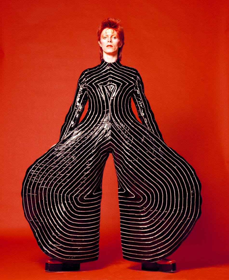 David Bowie in a Kansai Yamamoto creation
