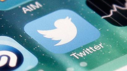 FILE - This Nov. 4, 2013 file photo shows the icon for the Twitter app on an iPhone in San Jose, Calif. The messaging service on Tuesday, Nov. 3, 2015 said it has removed the star icon found under every tweet and replaced it with a heart. Twitter Inc. said it made the change because the star can be confusing to new users and the heart is more universally known around the globe. (AP Photo/Marcio Jose Sanchez, File)